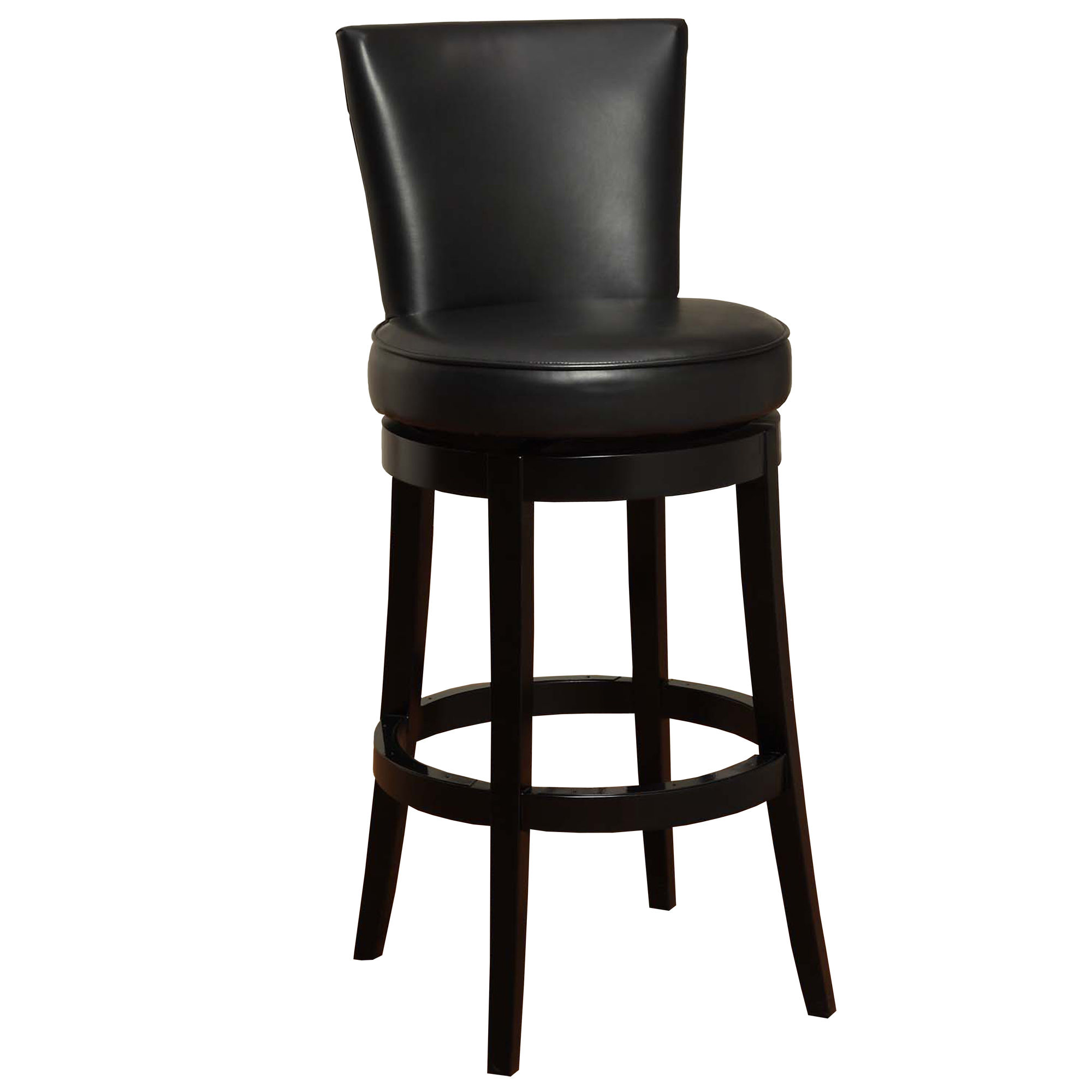 Armen Living Boston Black 26 Inch Counter Stool The Classy Home