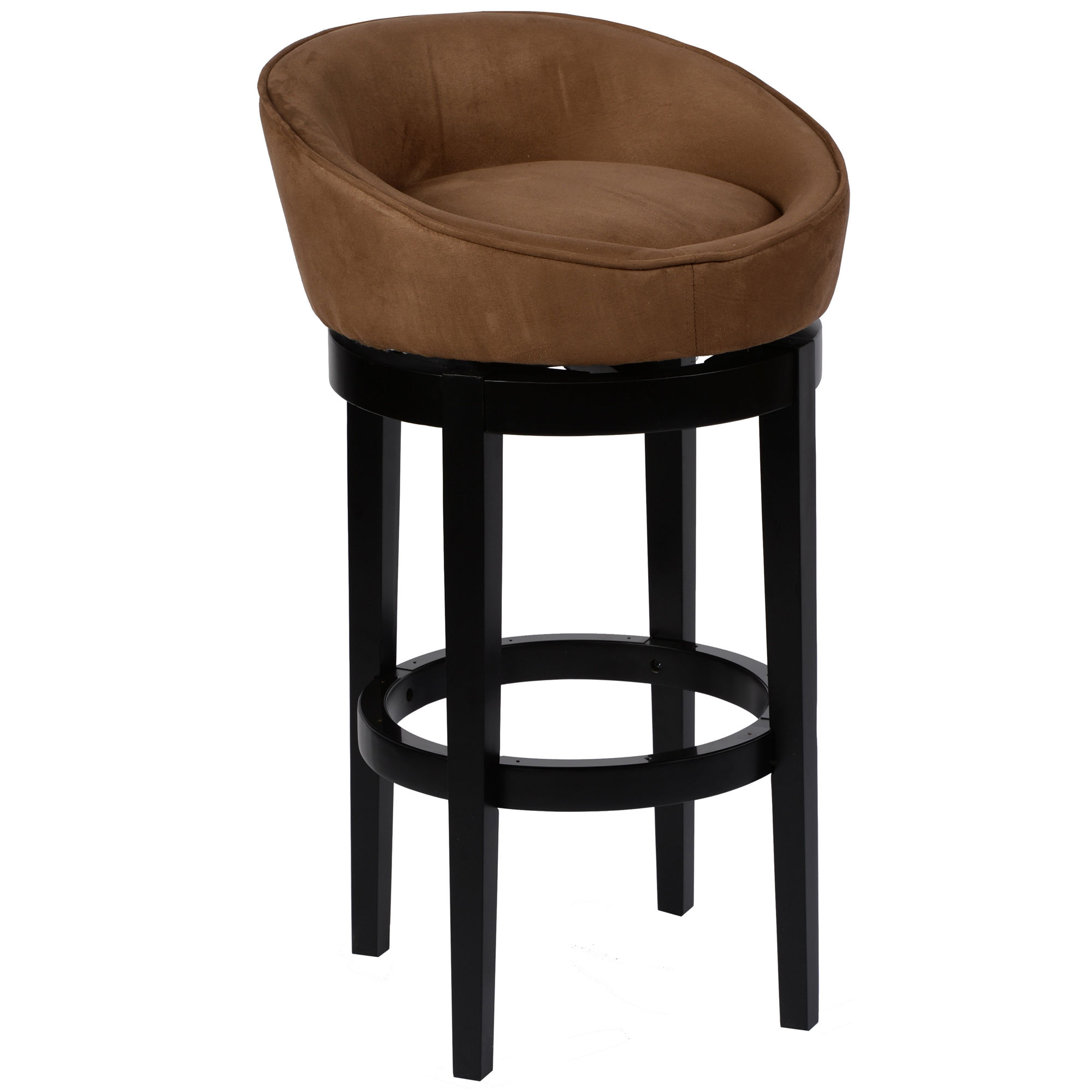 Armen Living Igloo Brown 30 Inch Bar Stool