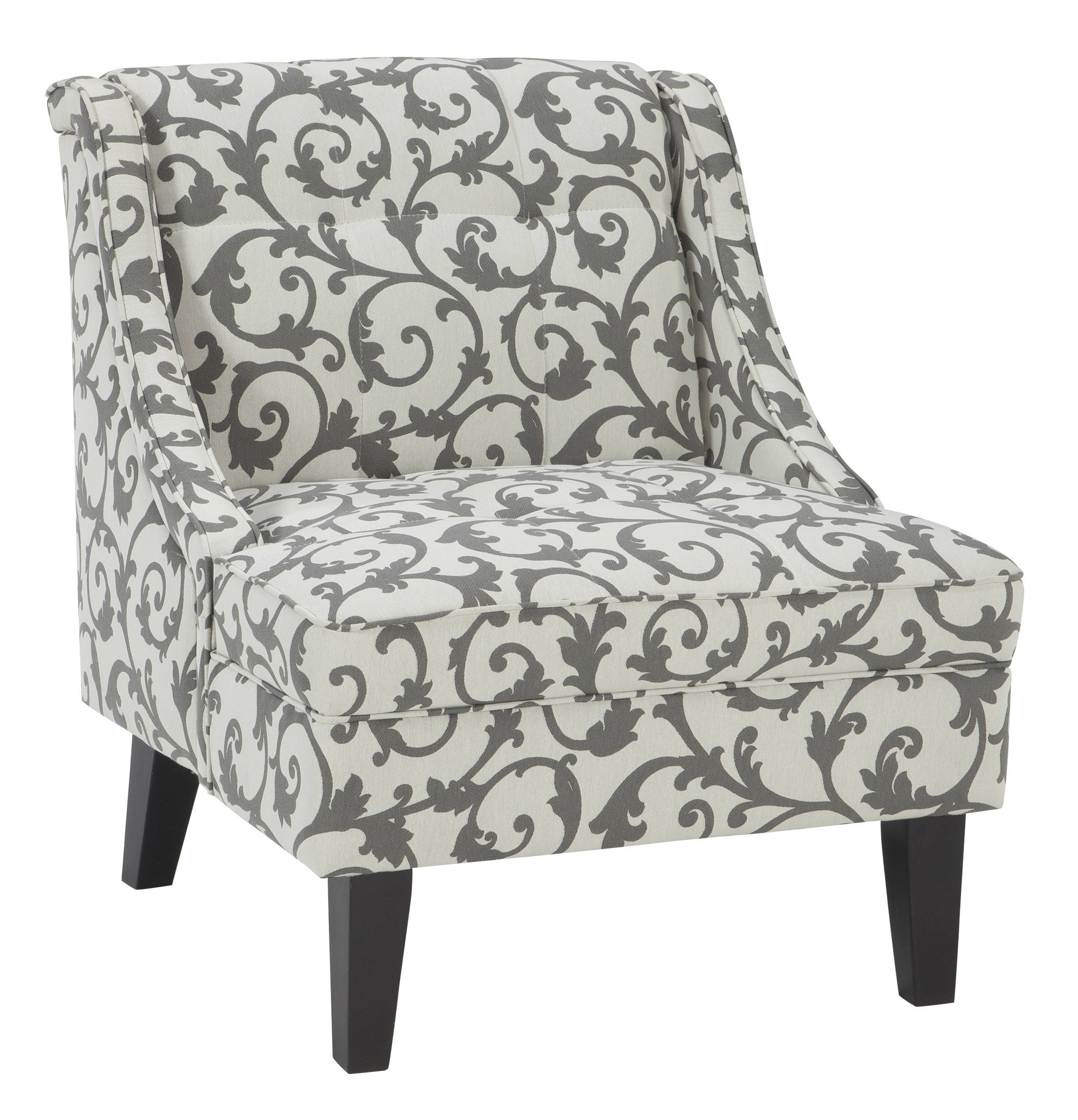 Fabulous Ashley Furniture Kexlor Gray Accent Chair Caraccident5 Cool Chair Designs And Ideas Caraccident5Info