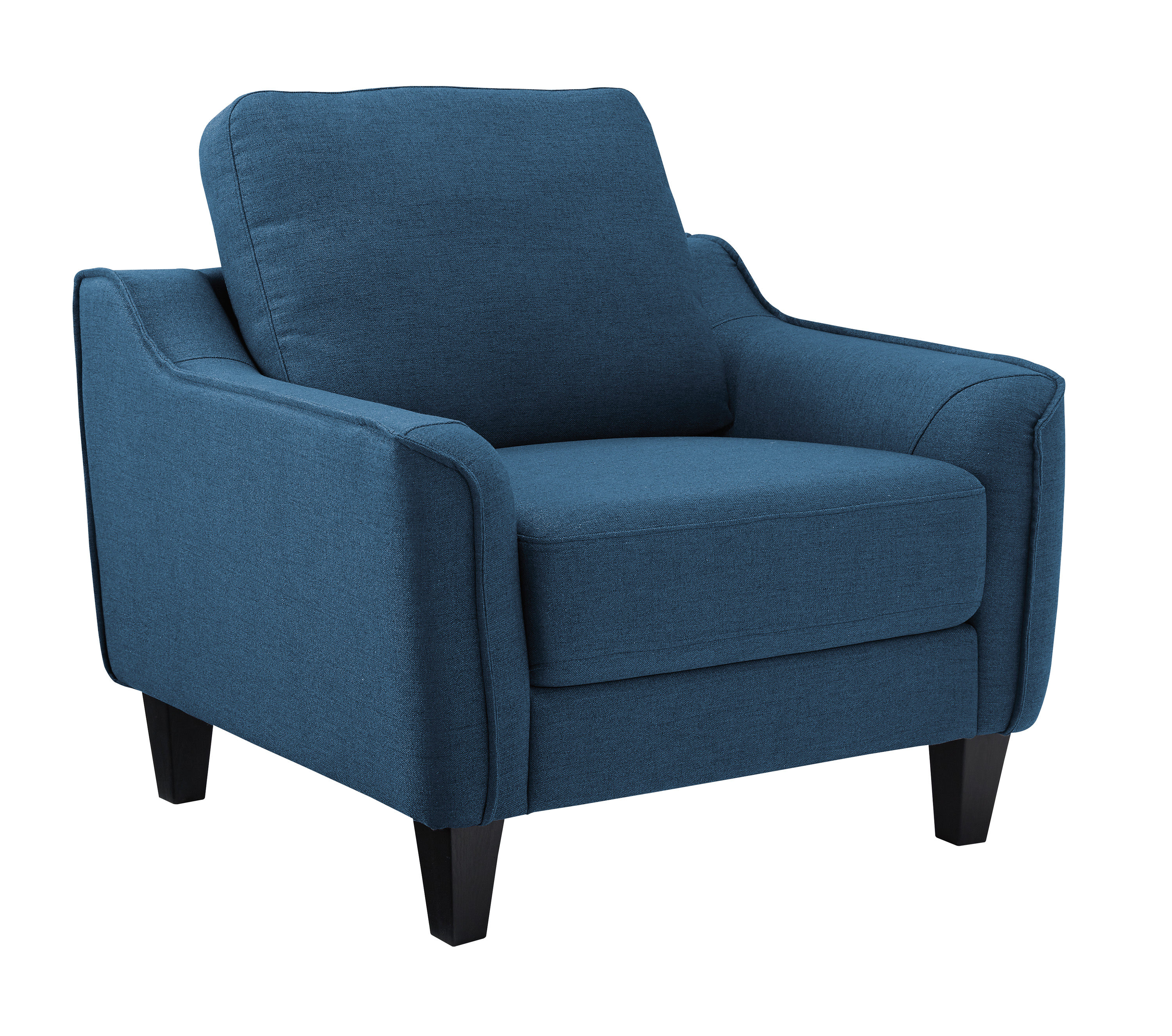 Ashley Furniture Jarreau Blue Chair Click To Enlarge
