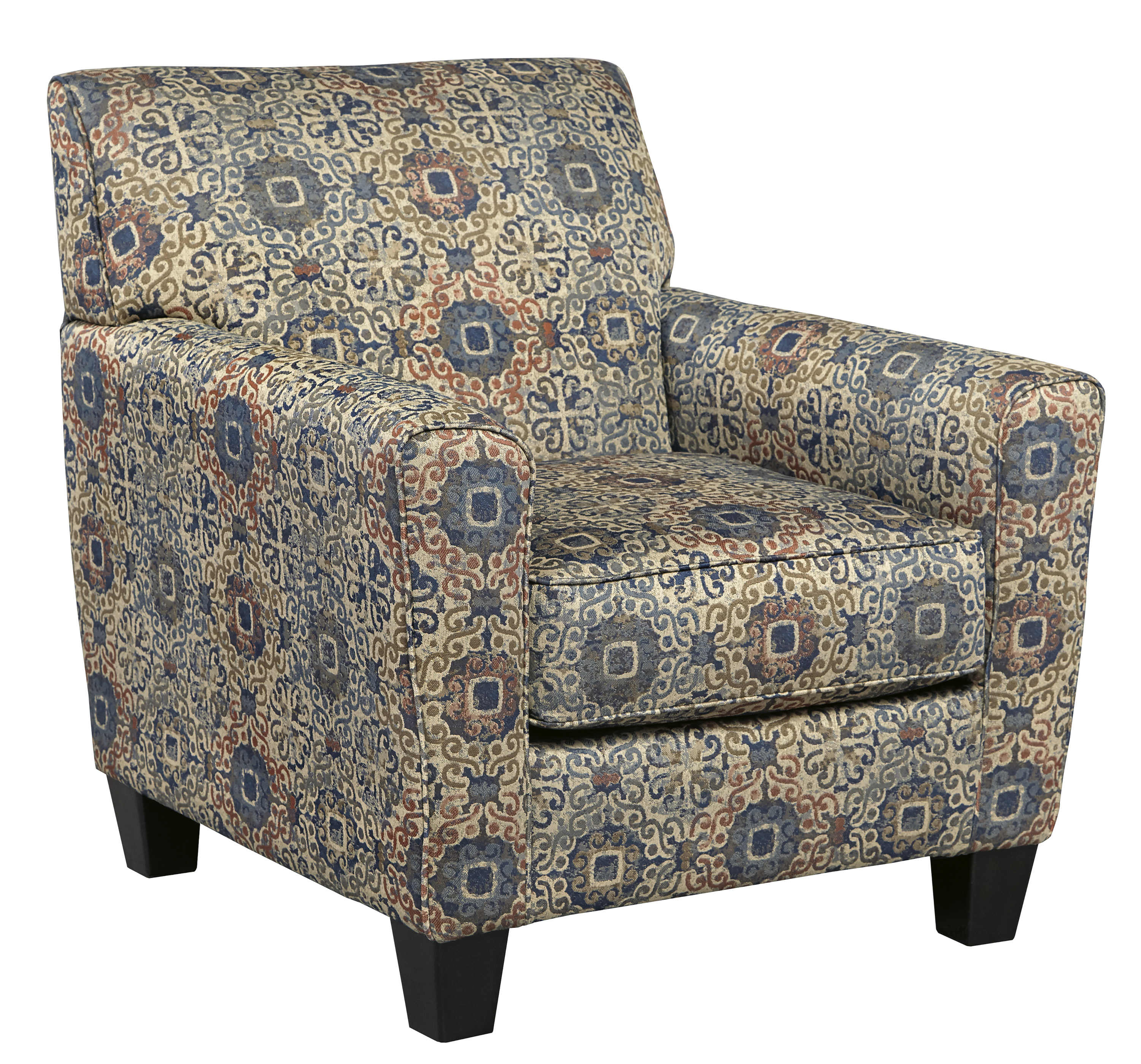 Ashley Furniture Belcampo Rust Accent Chair The Classy Home