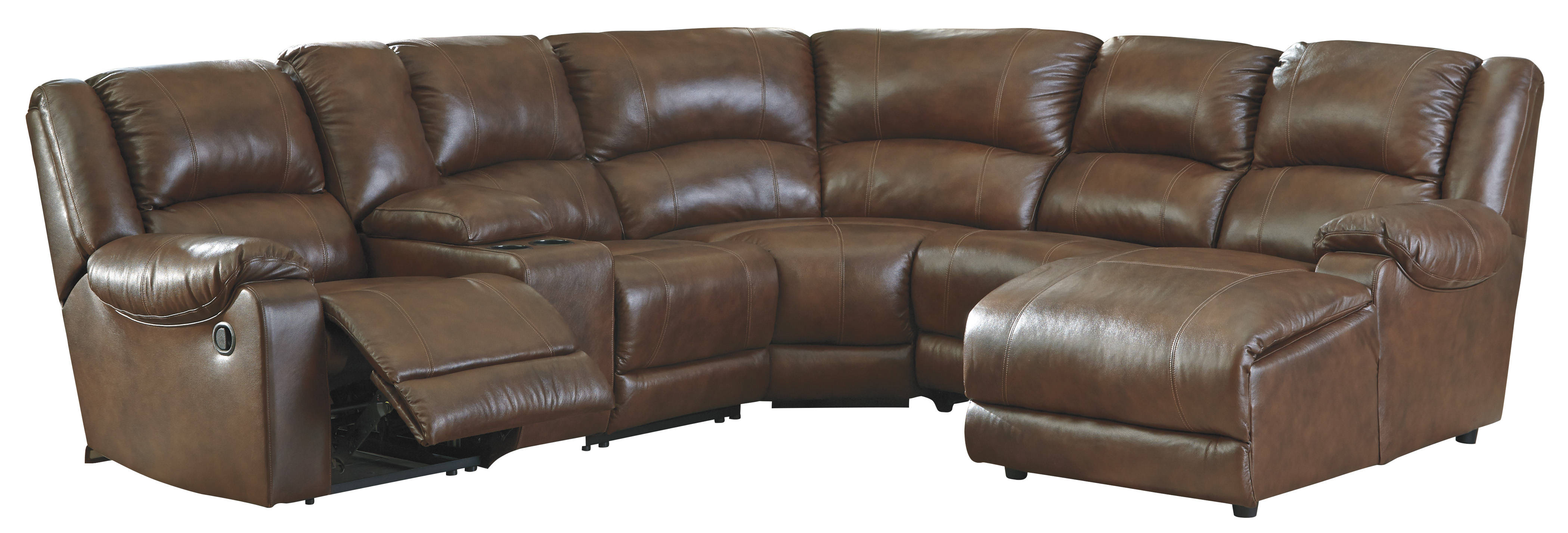 Ashley Furniture Billwedge Canyon Raf Chaise And Console Sectional The Classy Home