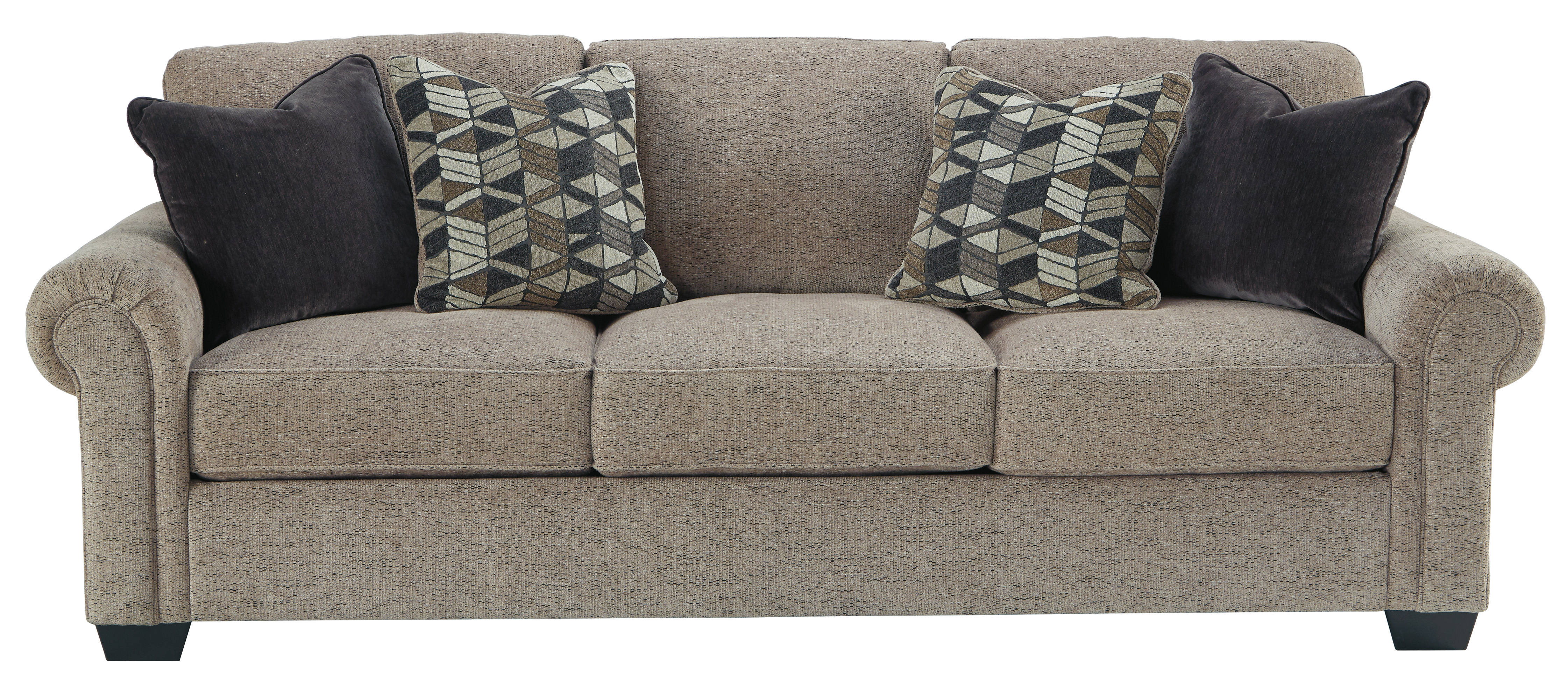 Ashley Furniture Fehmarn Toffee Sofa Click To Enlarge