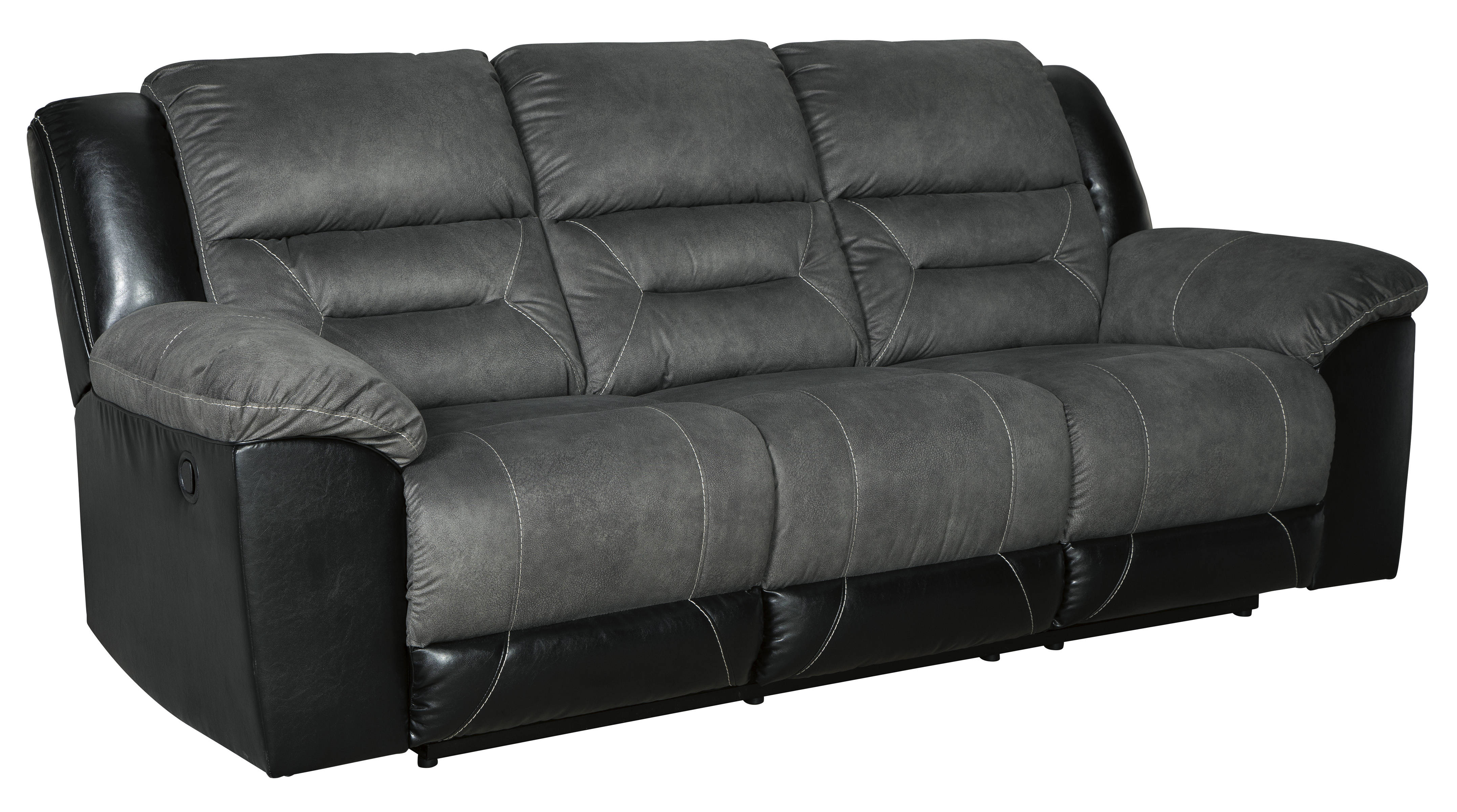Awe Inspiring Ashley Furniture Earhart Slate Reclining Sofa Home Interior And Landscaping Mentranervesignezvosmurscom
