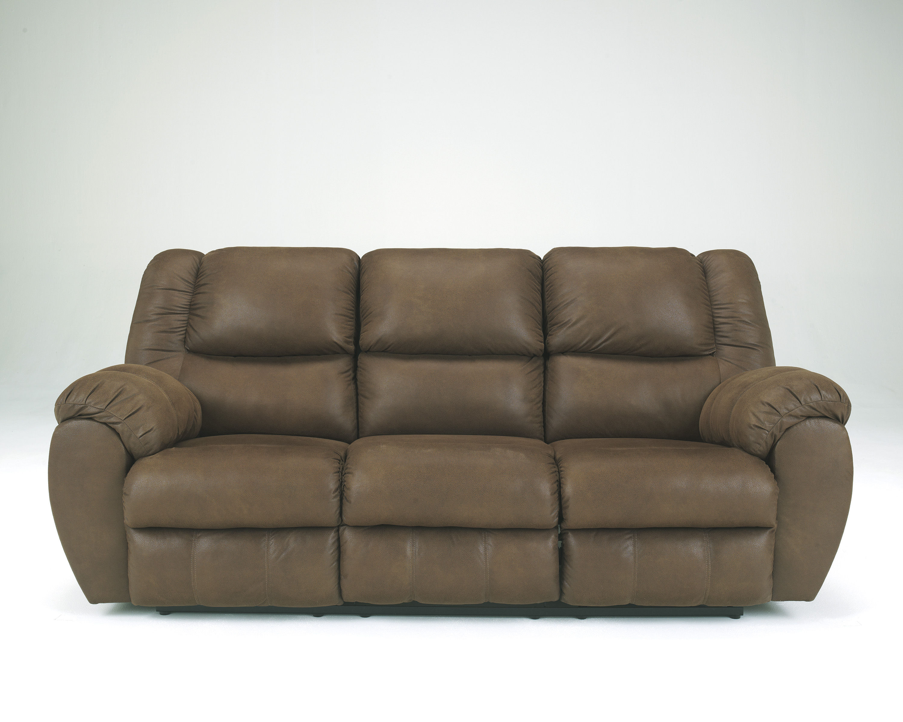 Quarterback Canyon Fabrics Reclining Sofa Living Rooms
