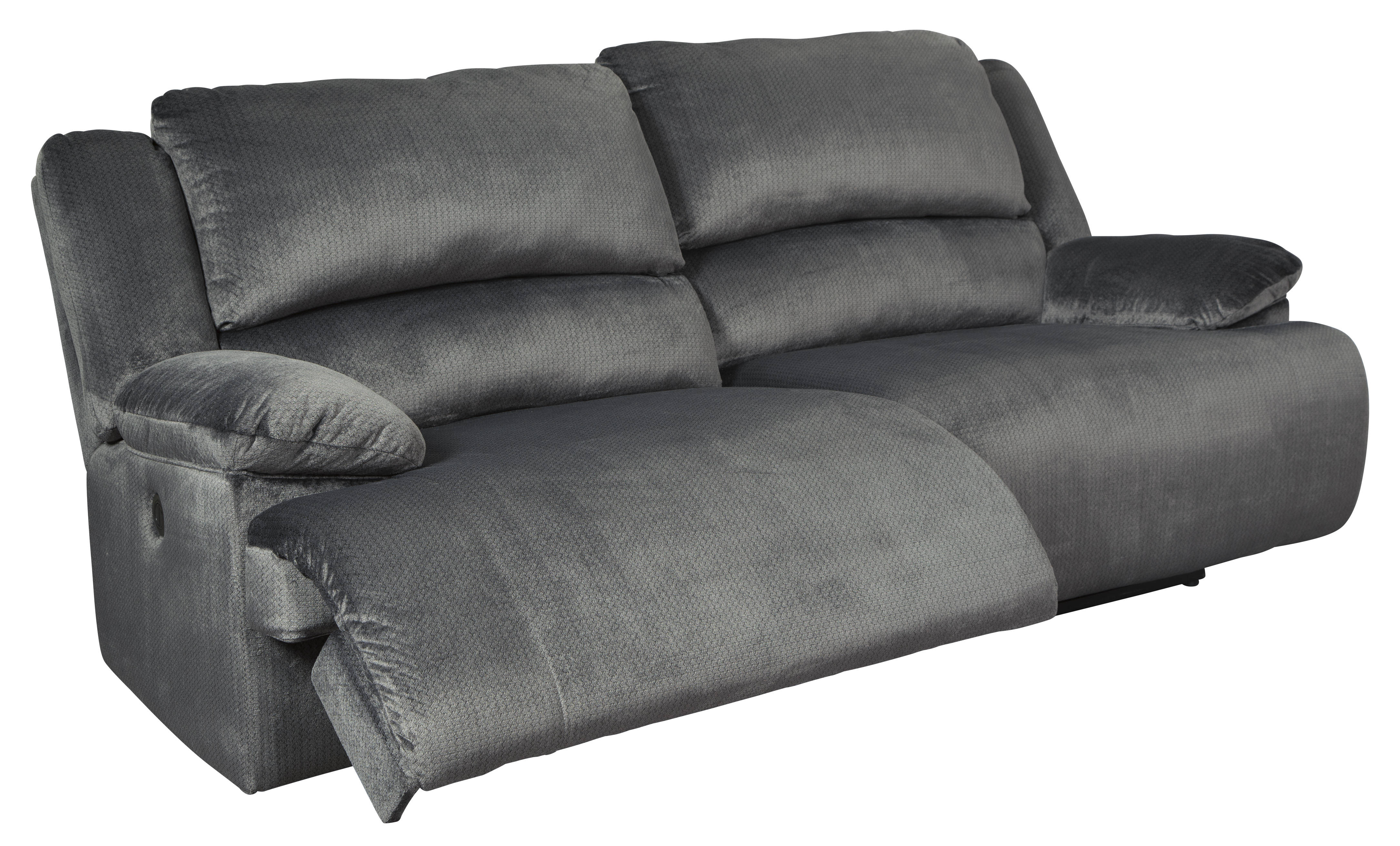 Enjoyable Ashley Furniture Clonmel Charcoal 2 Seat Reclining Sofa Home Interior And Landscaping Mentranervesignezvosmurscom