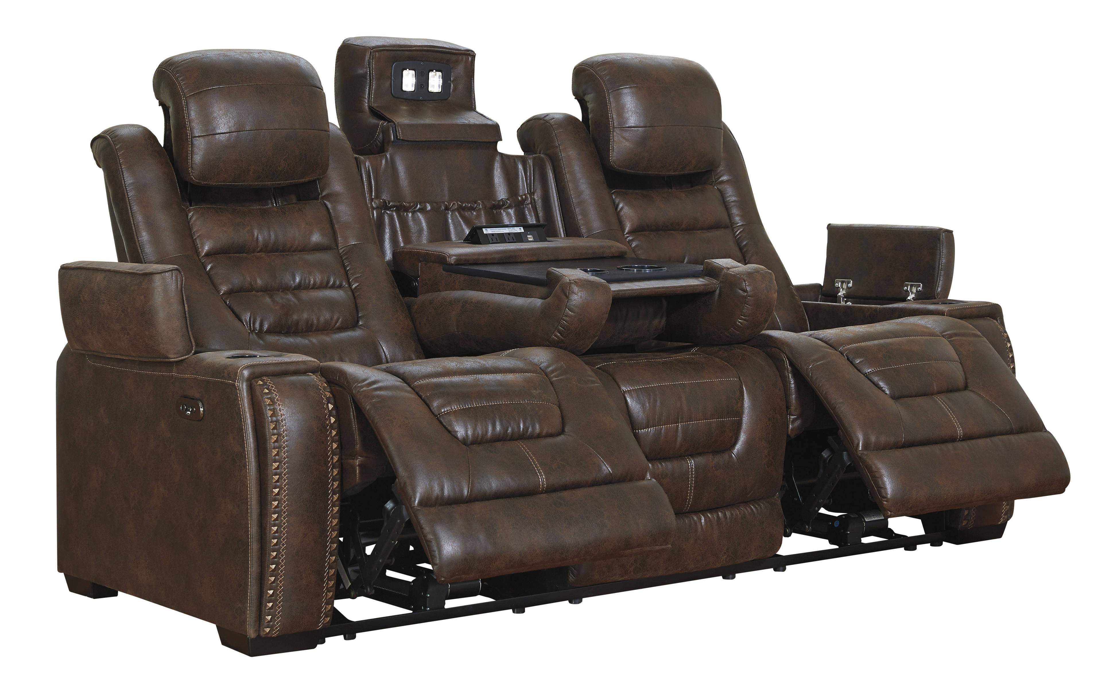 Zone Bark Reclining Sofa
