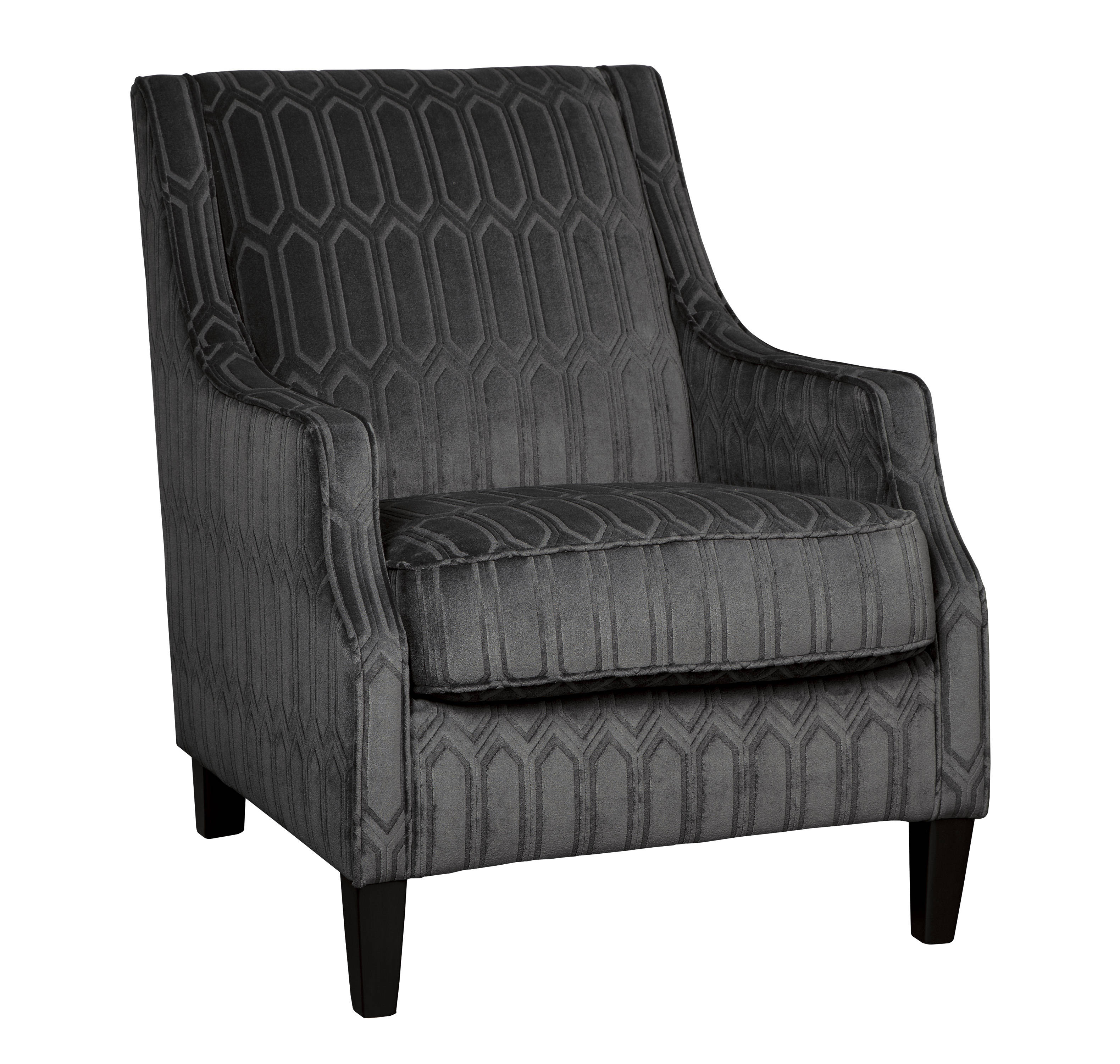 Ashley Furniture Entwine Graphite Accent Chair The Classy Home