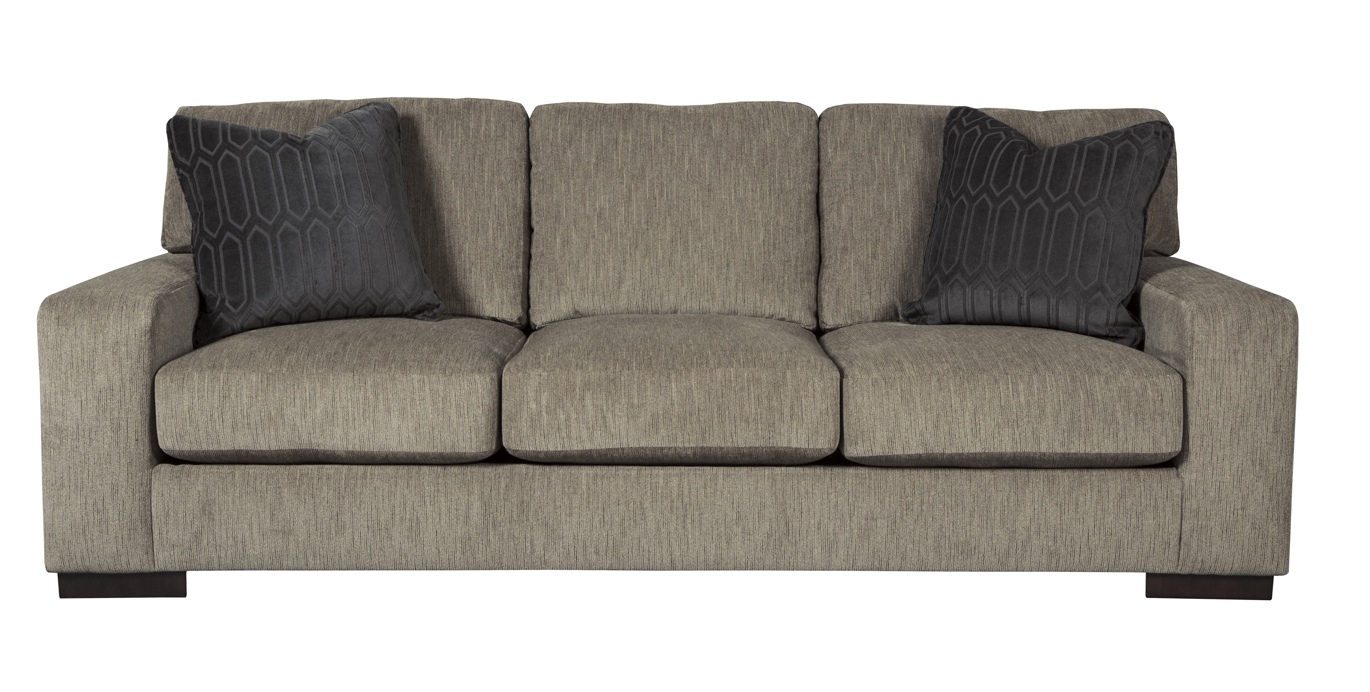 Ashley Furniture Entwine Smoke Sofa Click To Enlarge
