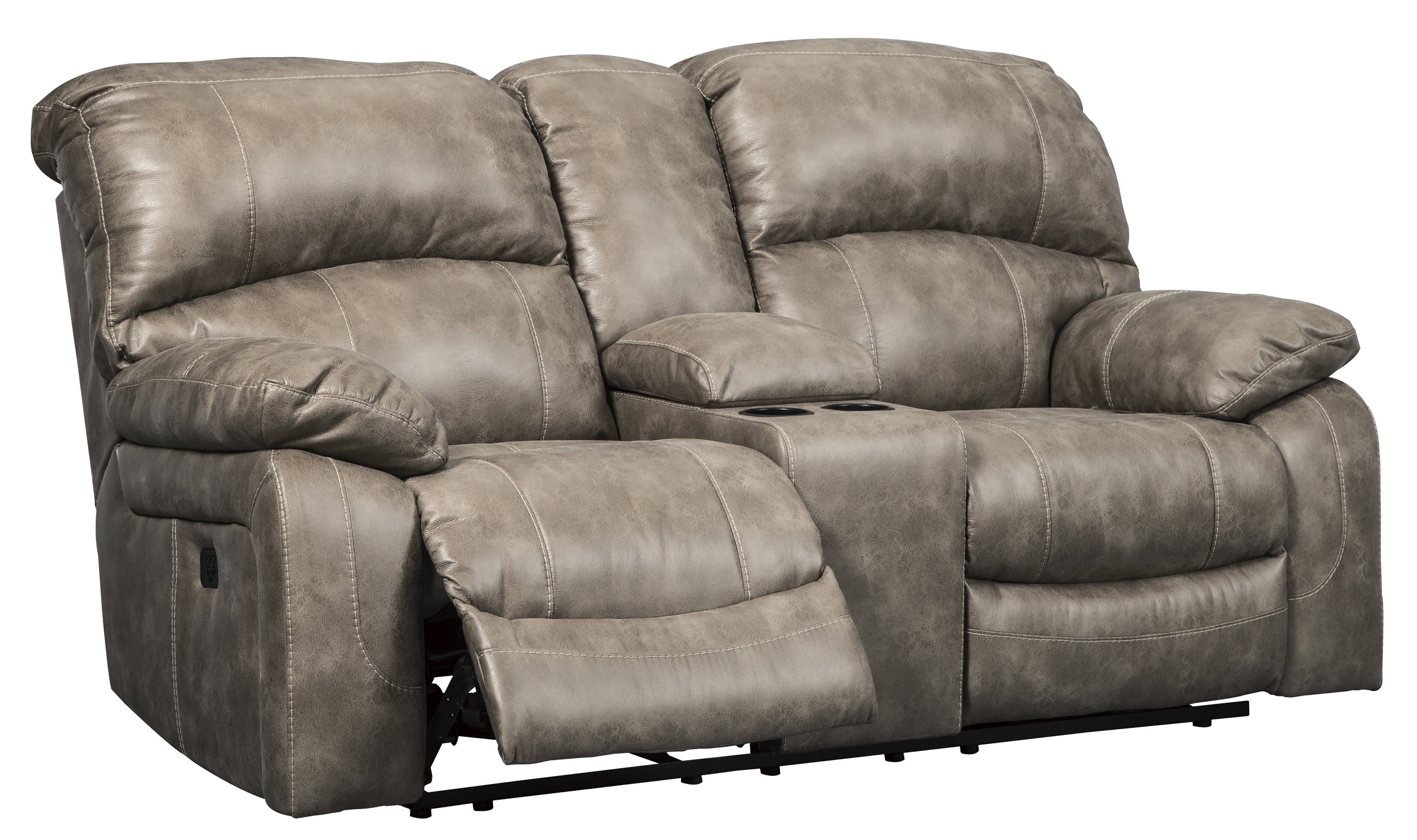 Ashley Furniture Dunwell Driftwood Power Reclining Loveseat The