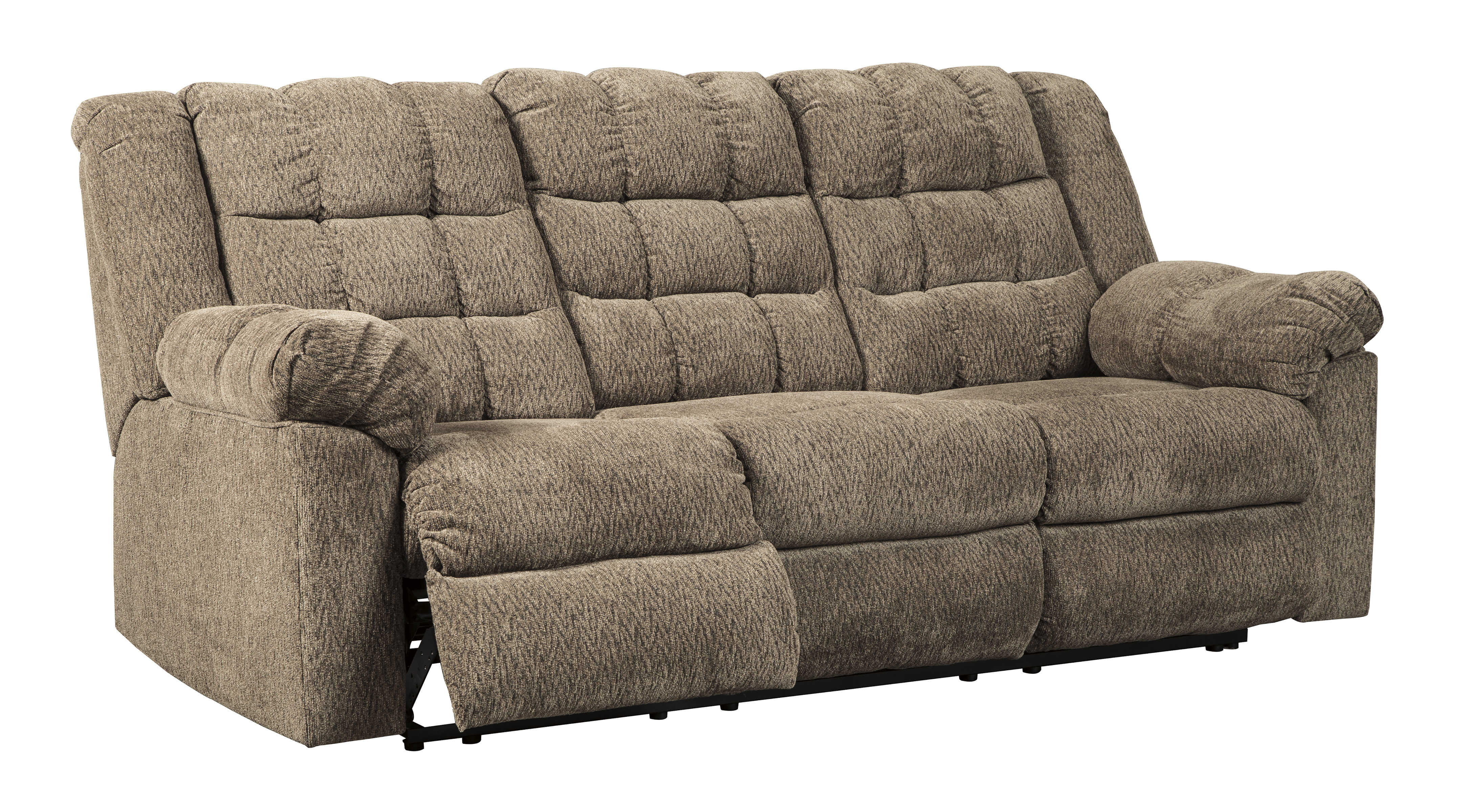 Ashley Furniture Workhorse Reclining Sofa Click To Enlarge
