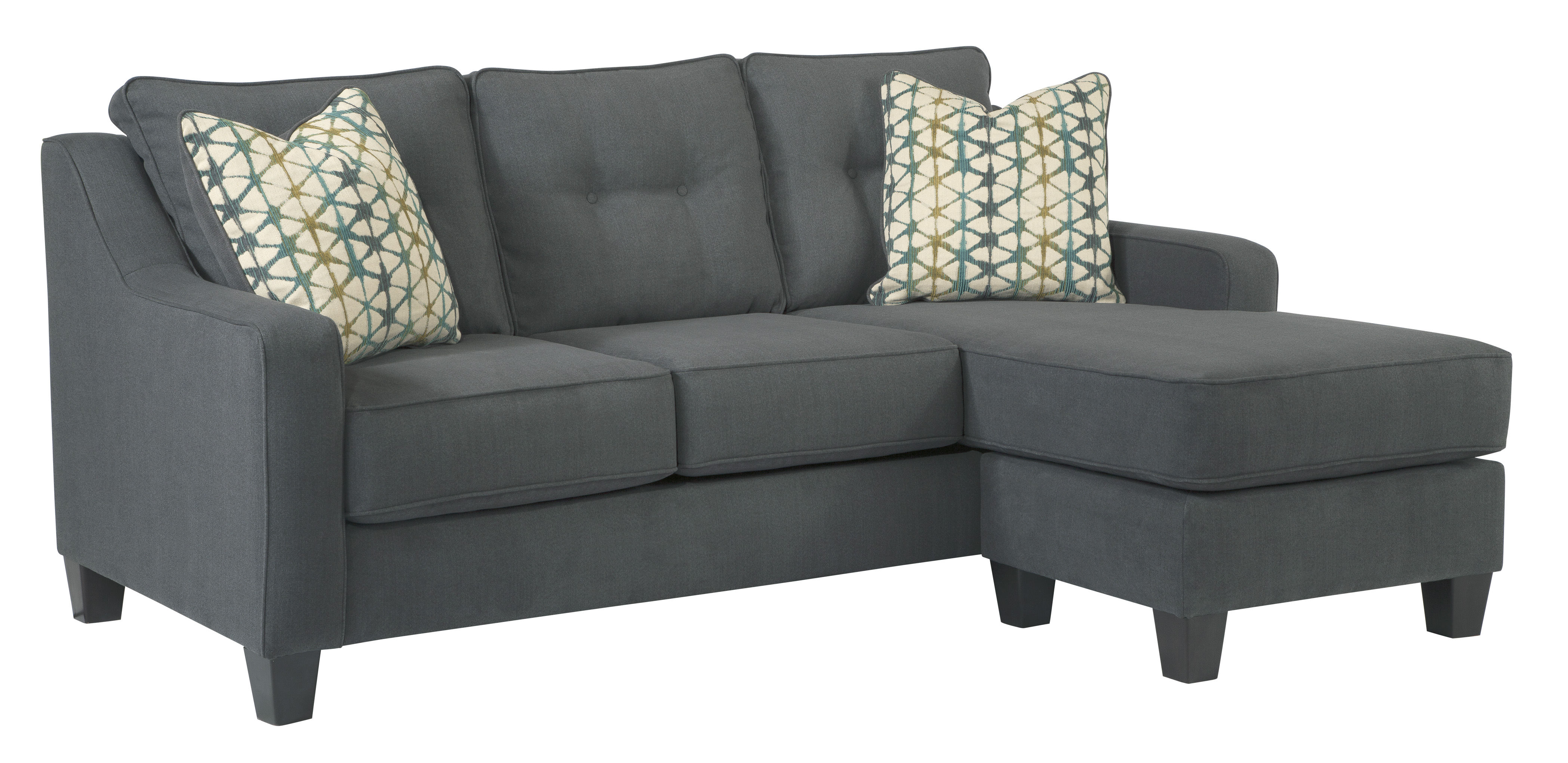 Marvelous Ashley Furniture Shayla Dark Gray Sofa Chaise The Classy Home Download Free Architecture Designs Scobabritishbridgeorg