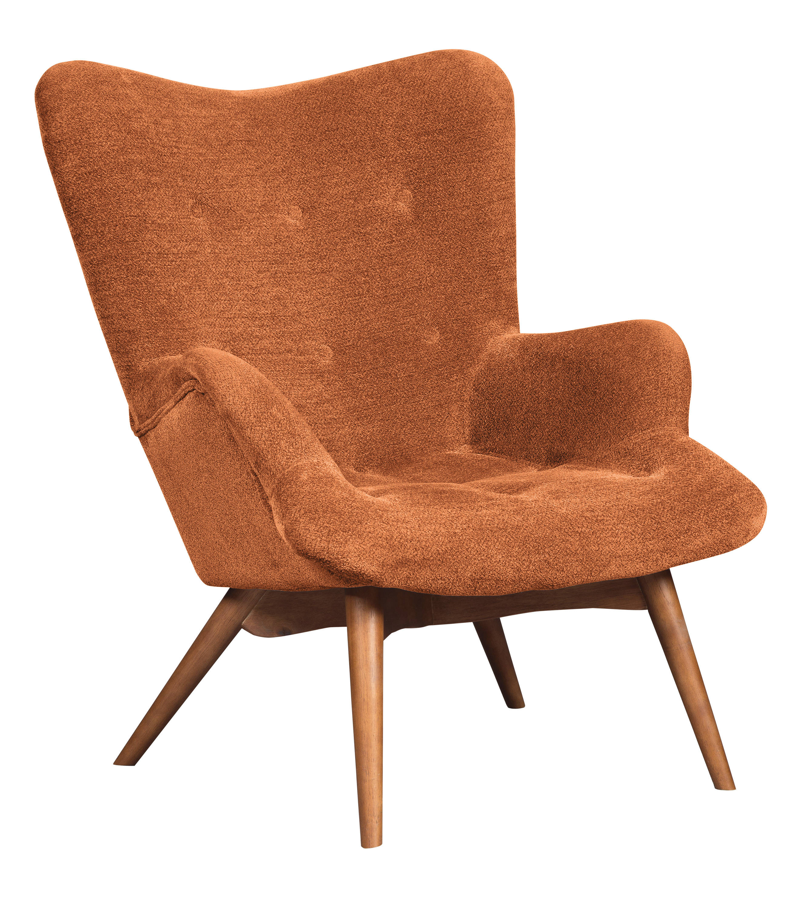 Ashley Furniture Pelsor Orange Accent Chair The Classy Home