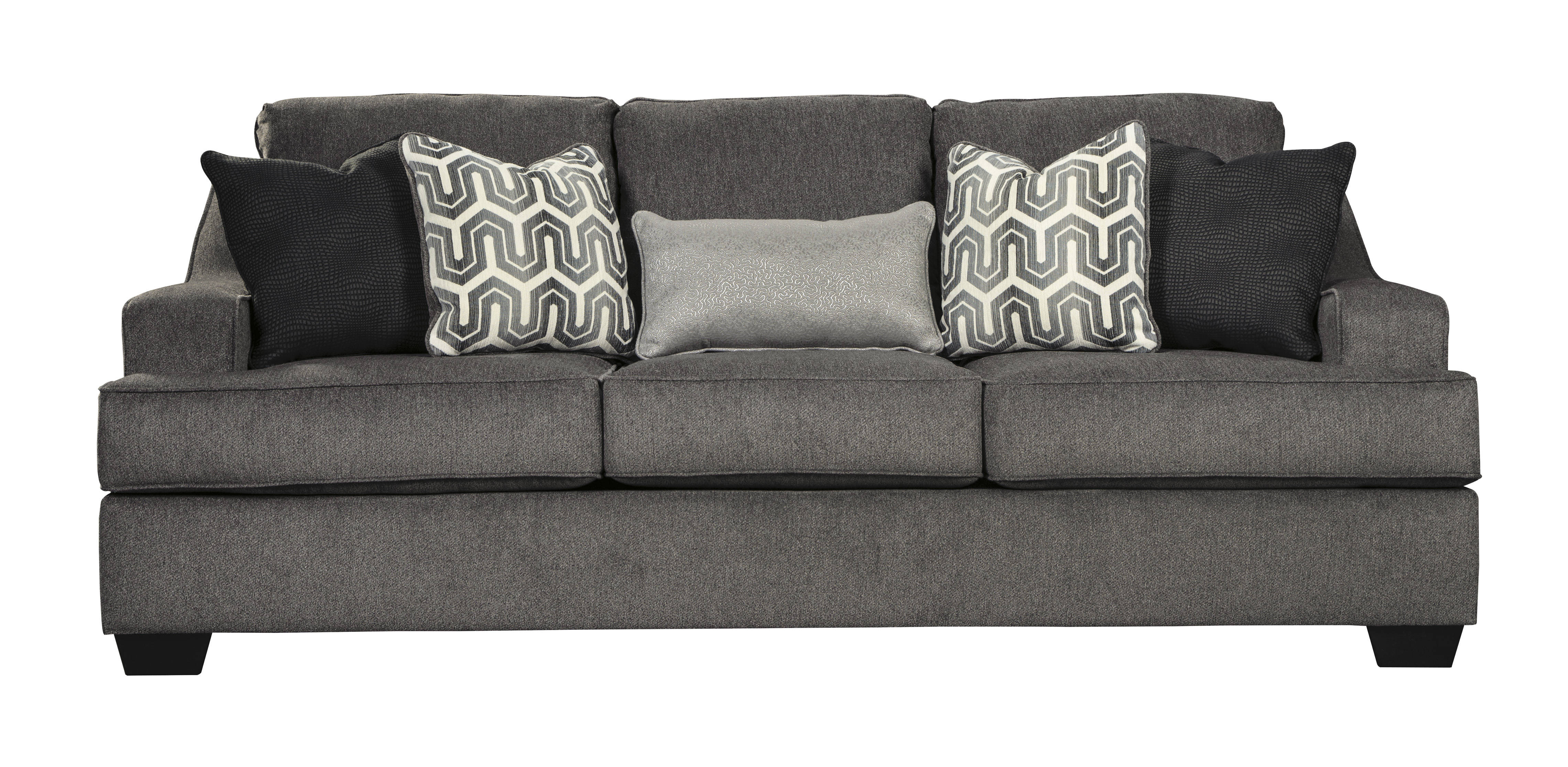 Ashley Furniture Gilmer Gunmetal Sofa The Classy Home
