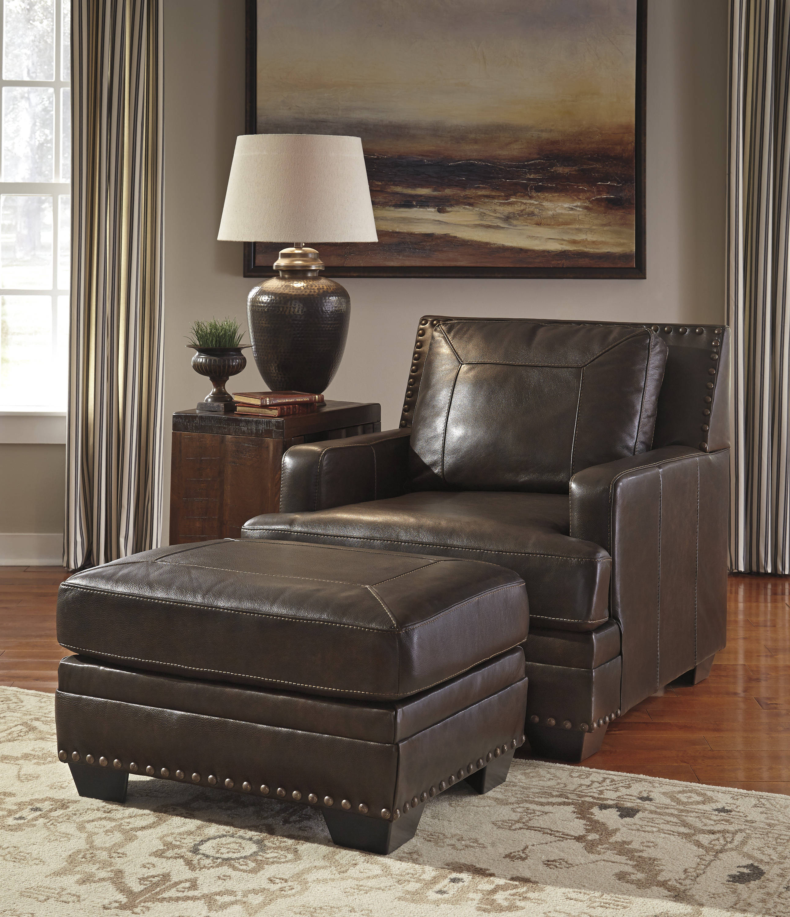 Cool Ashley Furniture Corvan Chair And Ottomans Set The Classy Home Squirreltailoven Fun Painted Chair Ideas Images Squirreltailovenorg