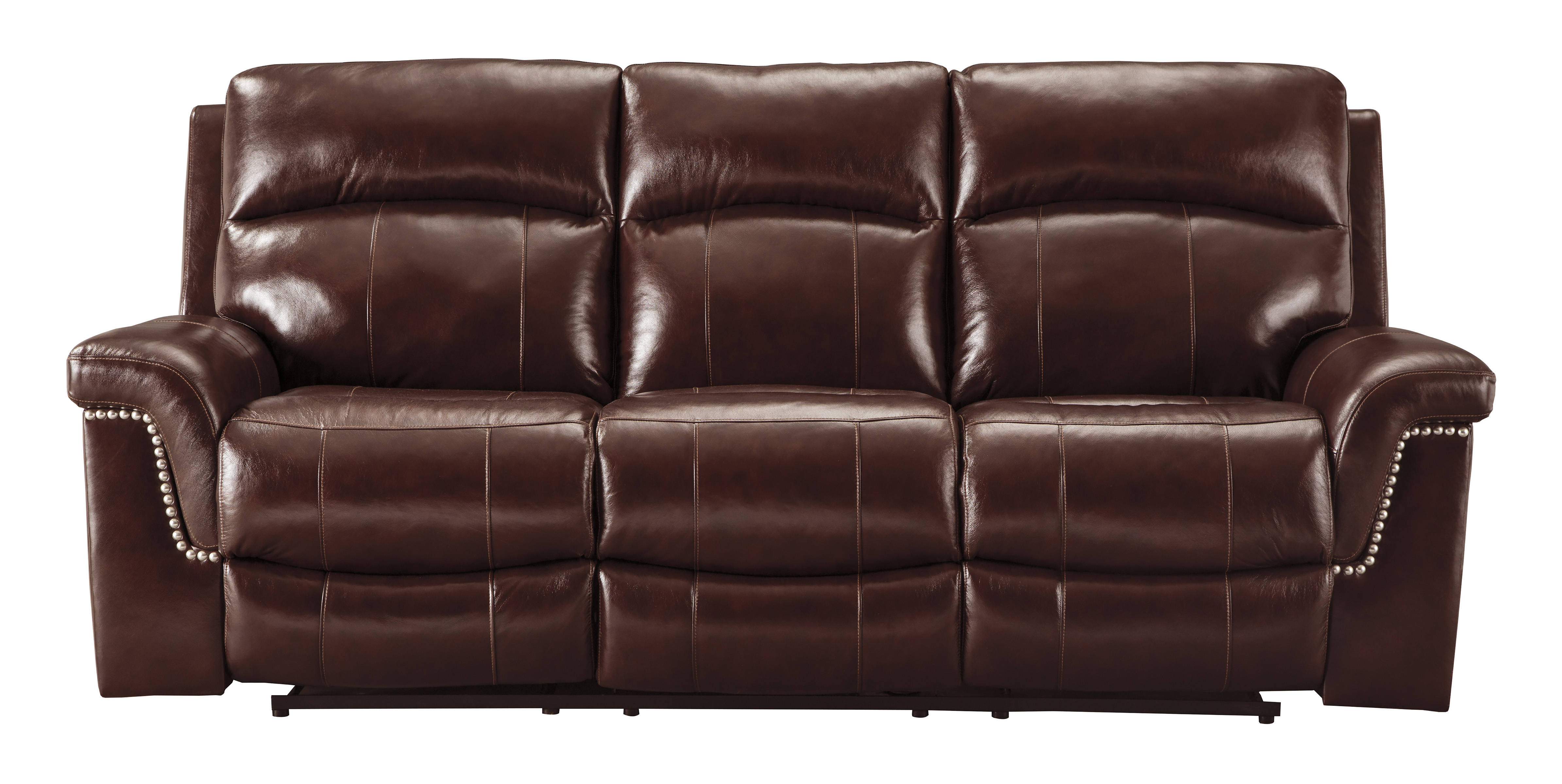Ashley Furniture Timmons Burgundy Reclining Sofa Click To Enlarge