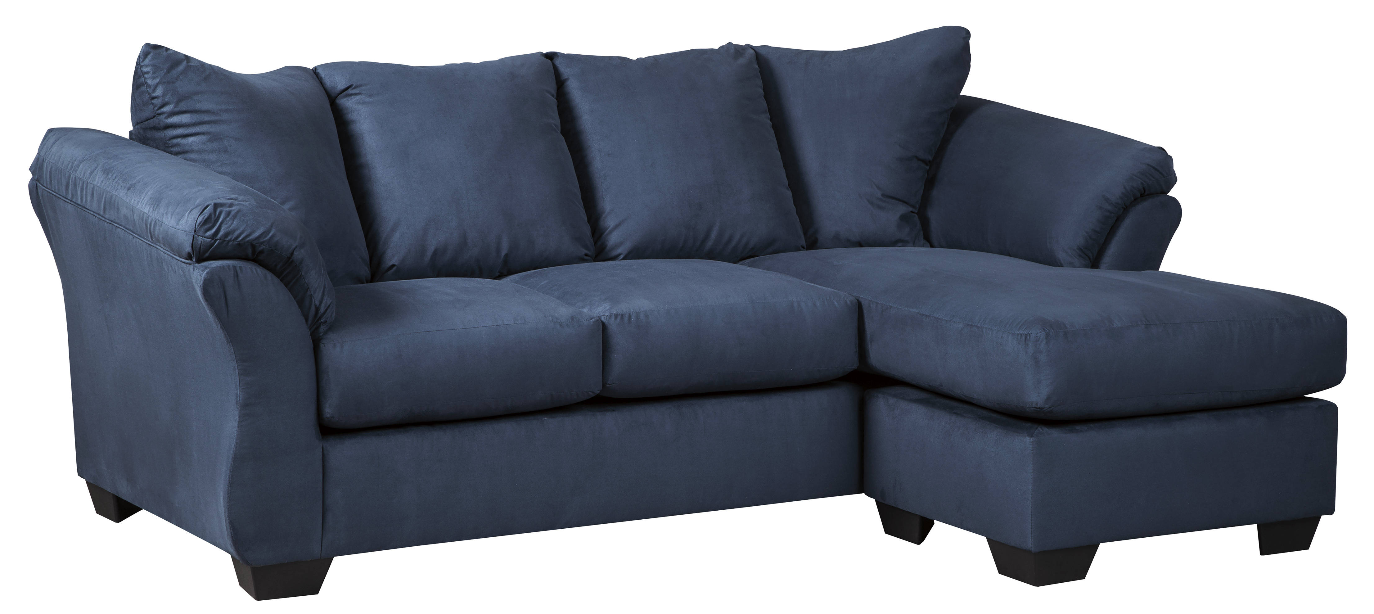 Pleasing Ashley Furniture Darcy Blue Sofa Chaise Caraccident5 Cool Chair Designs And Ideas Caraccident5Info