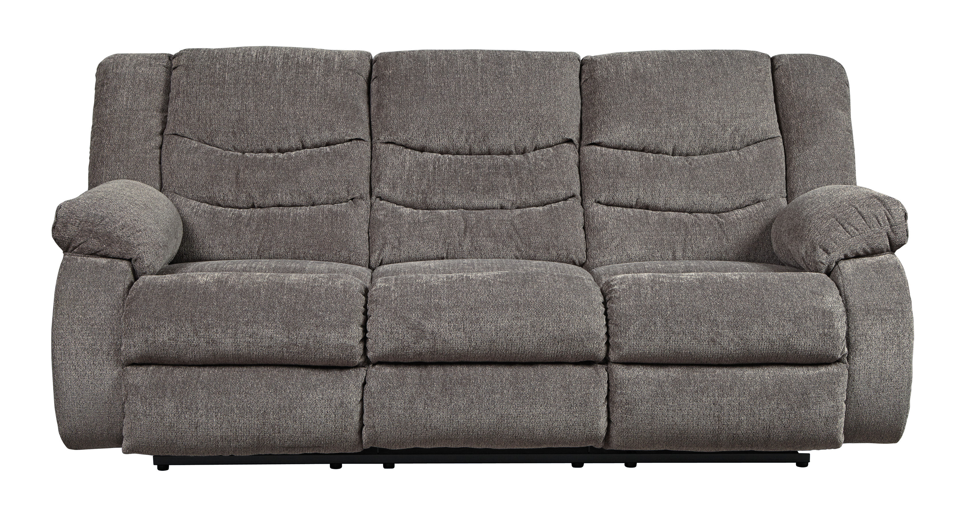Ashley Furniture Tulen Gray Reclining Sofa The Classy Home