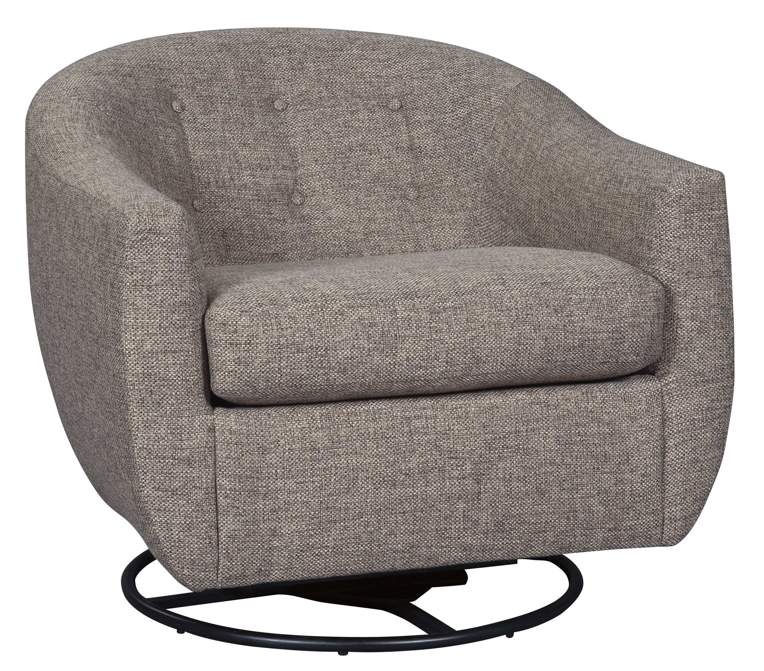 Ashley Furniture Upshur Taupe Swivel