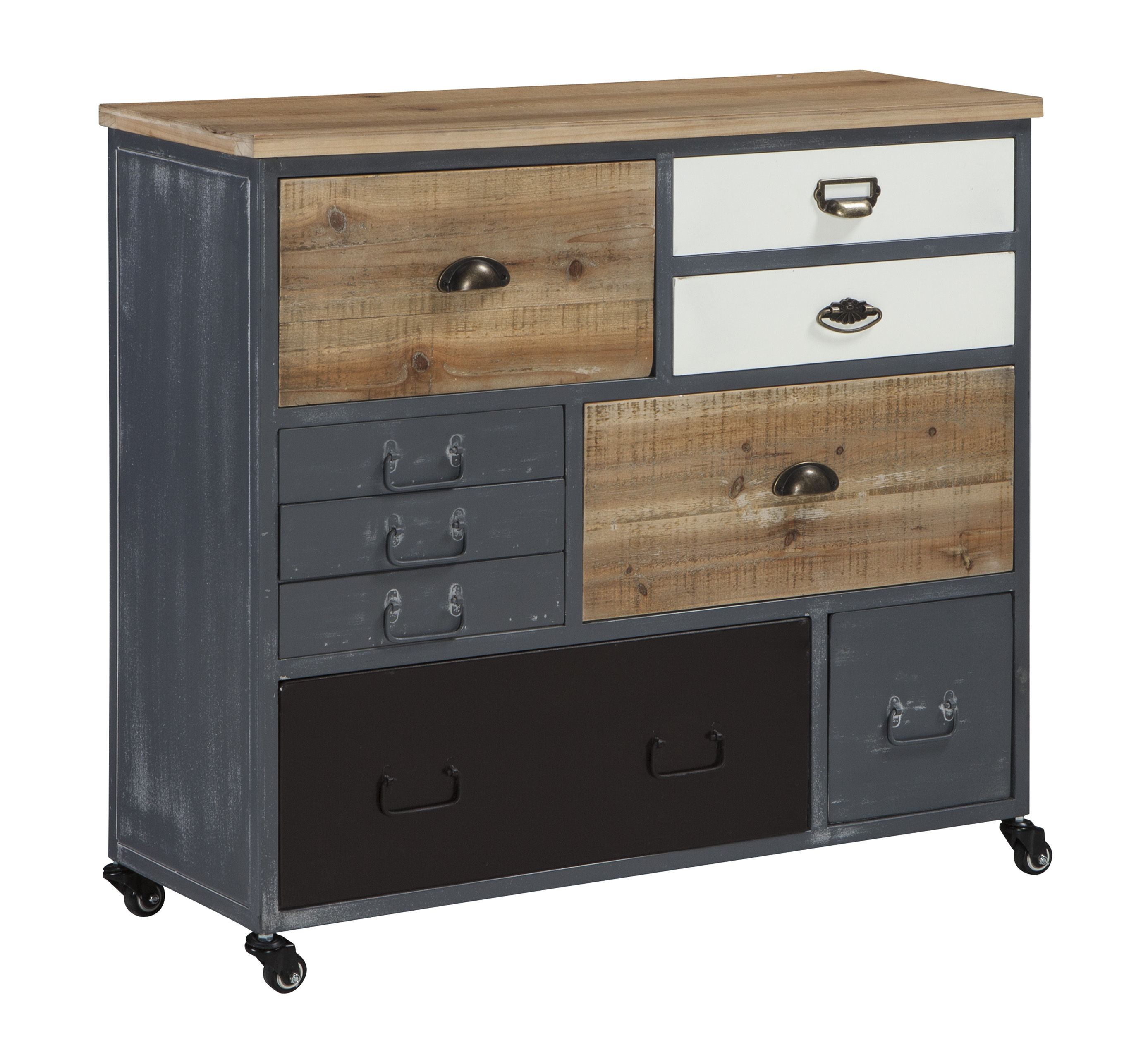 Attrayant Ashley Furniture Ponder Ridge Gray Accent Cabinet Click To Enlarge ...