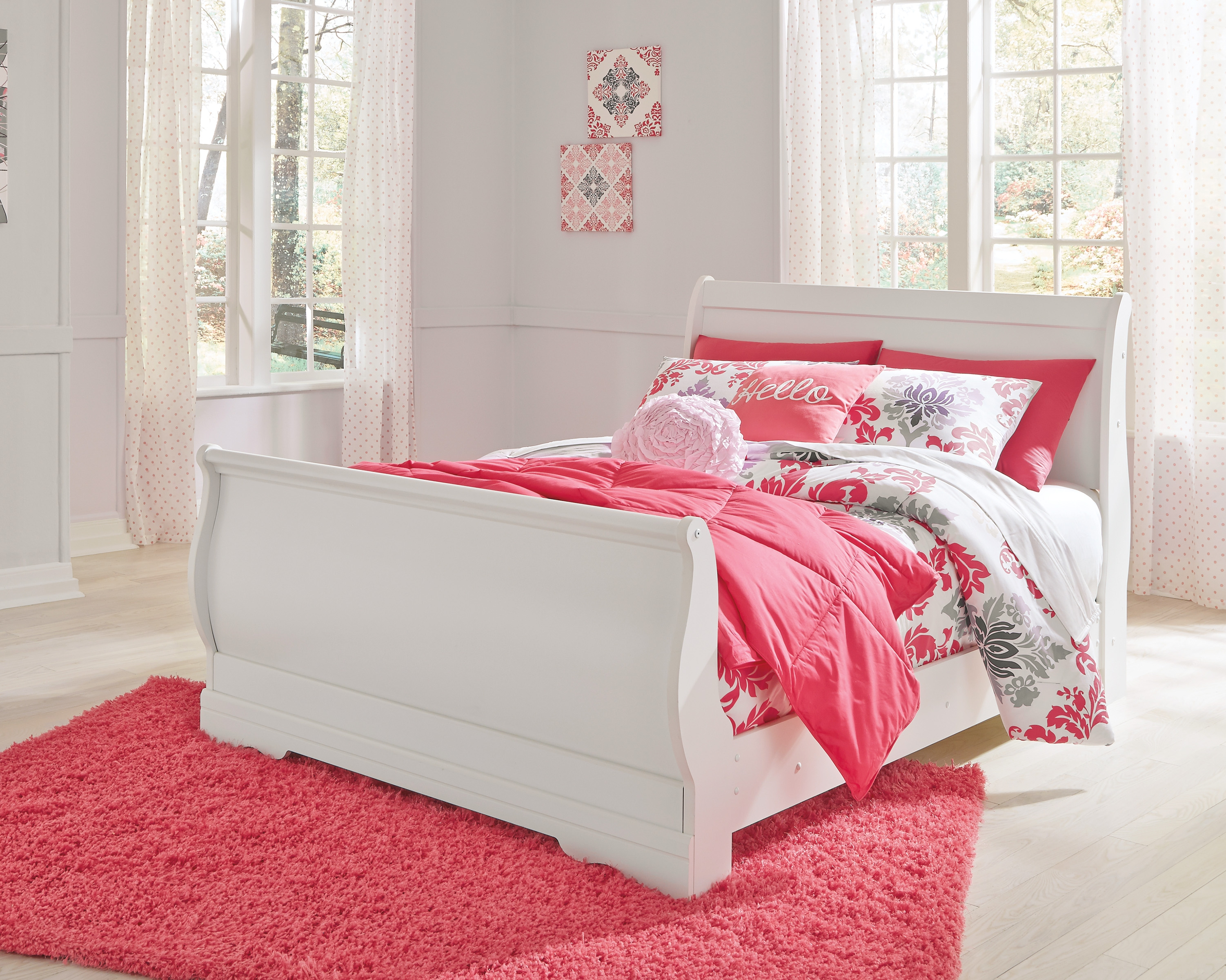 Ashley Furniture Anarasia Full Sleigh Bed The Classy Home