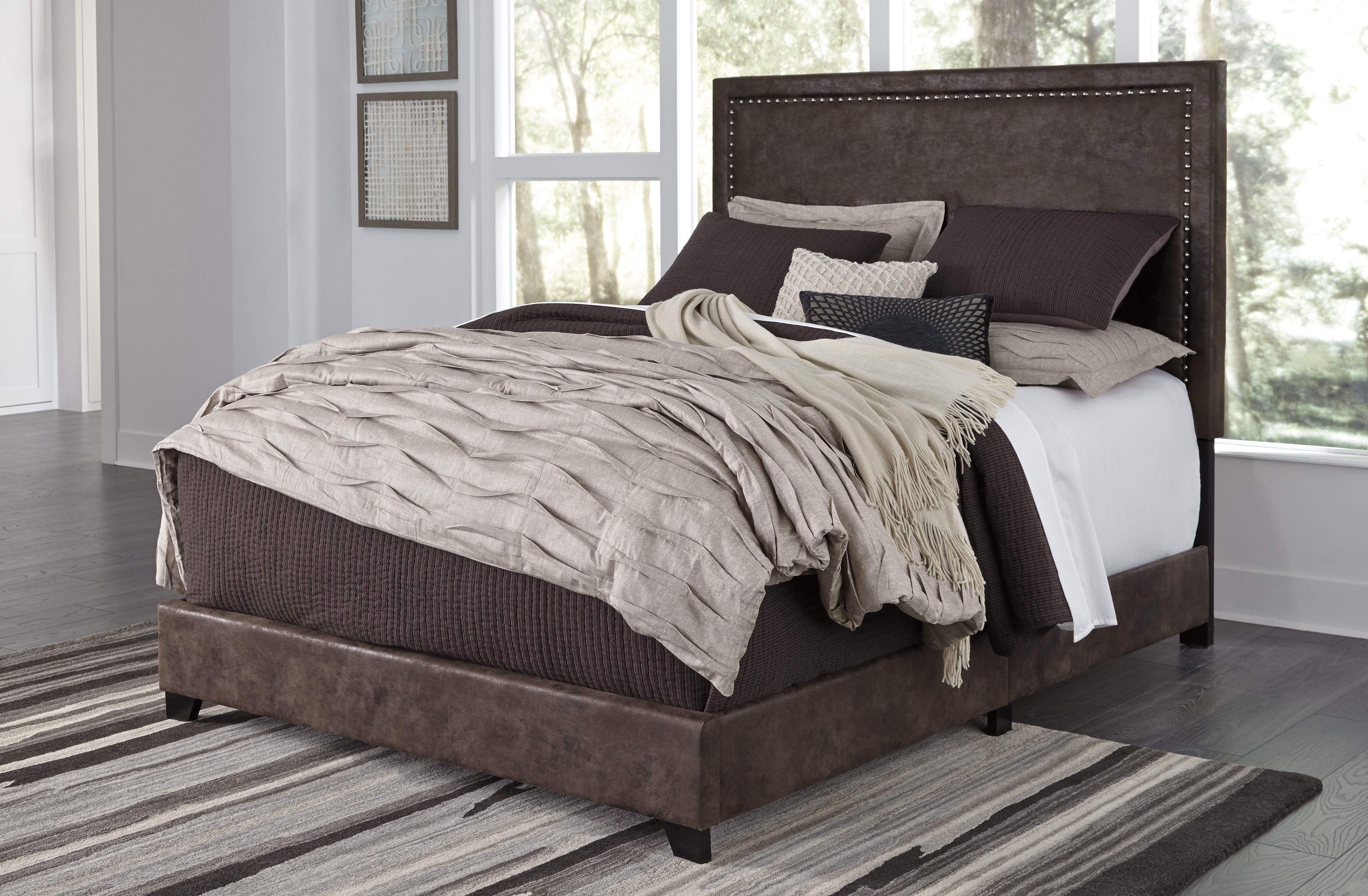 Ashley Furniture Dolante King Upholstered Bed The Classy Home