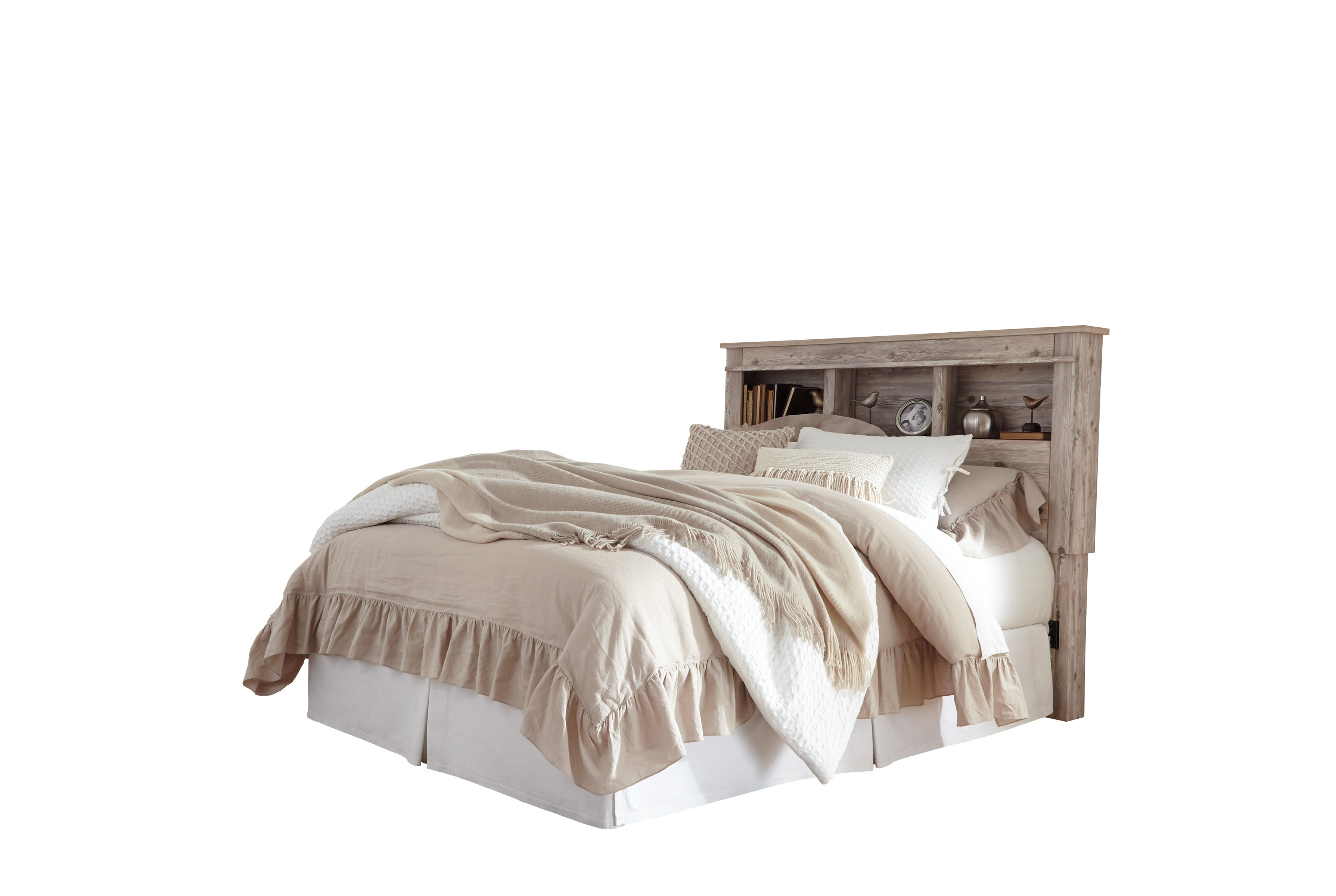 Ashley Furniture Willabry Bookcase Headboards With Bed Frame The