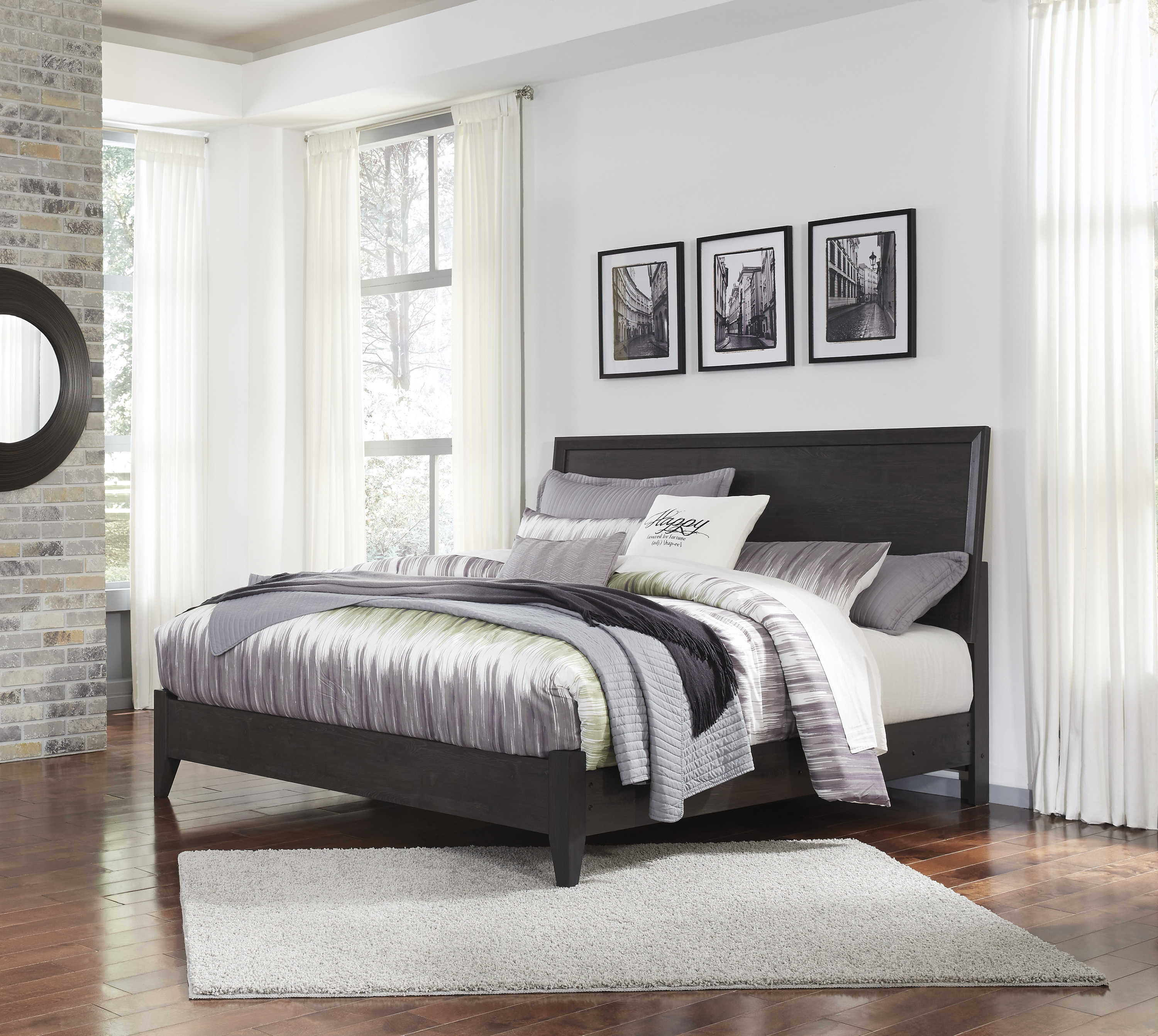 Admirable Ashley Furniture Daltori King Panel Bed The Classy Home Home Interior And Landscaping Palasignezvosmurscom
