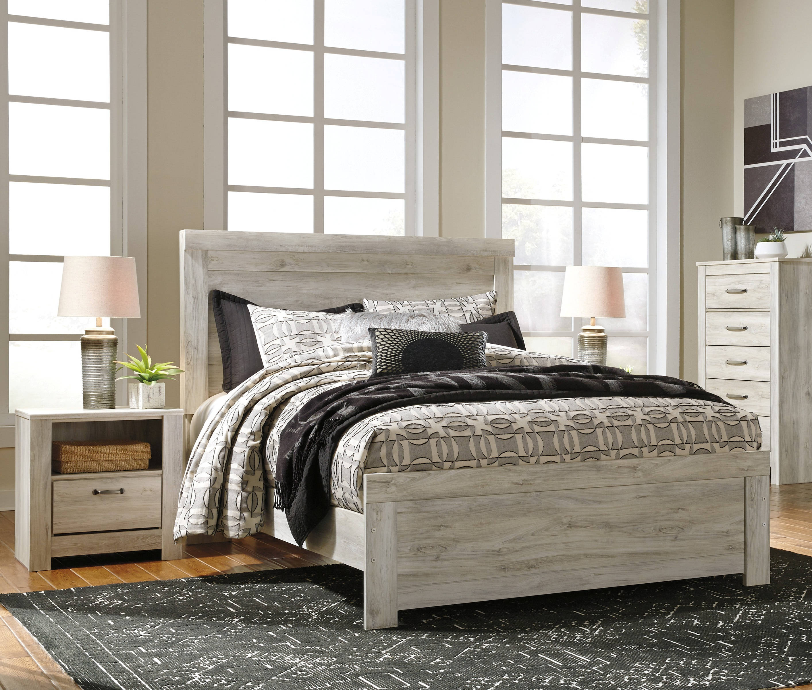 Ashley Home Furniture Bedroom Sets: Ashley Furniture Bellaby 2pc Bedroom Set With Queen Bed