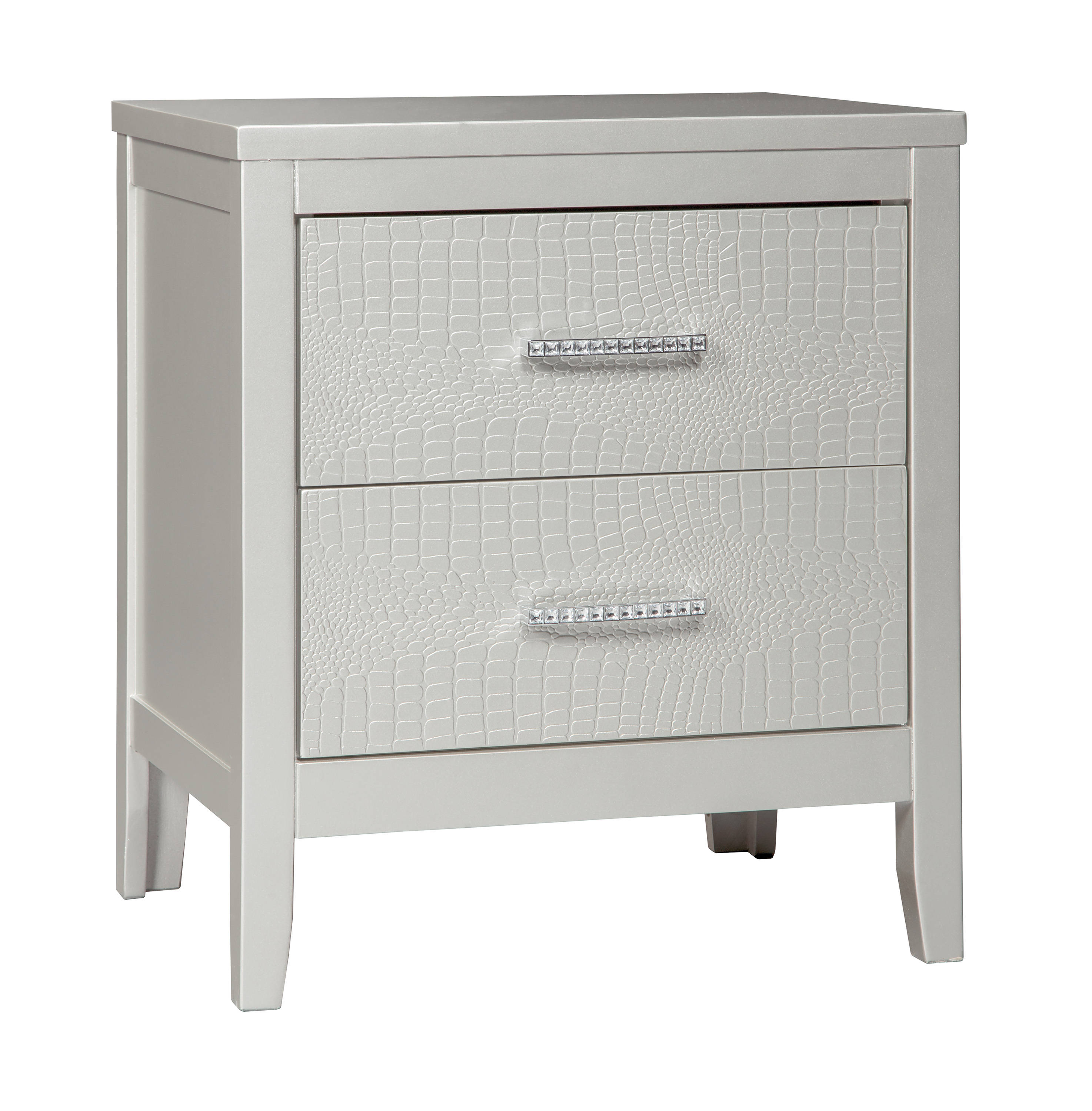 Ashley Furniture Olivet Two Drawers Night Stand Click To Enlarge