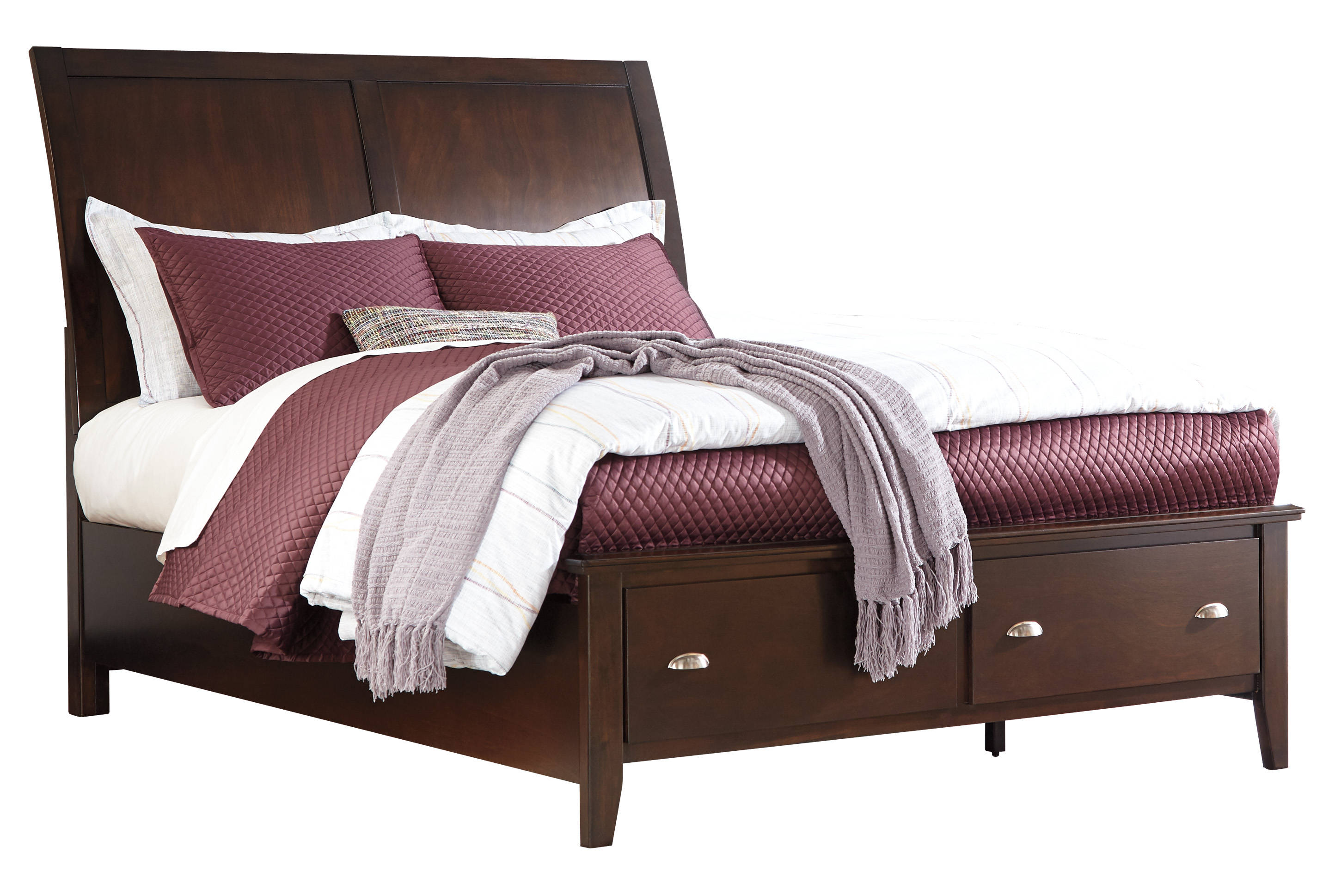 Ashley Furniture Evanburg Storage Sleigh Beds Click To Enlarge