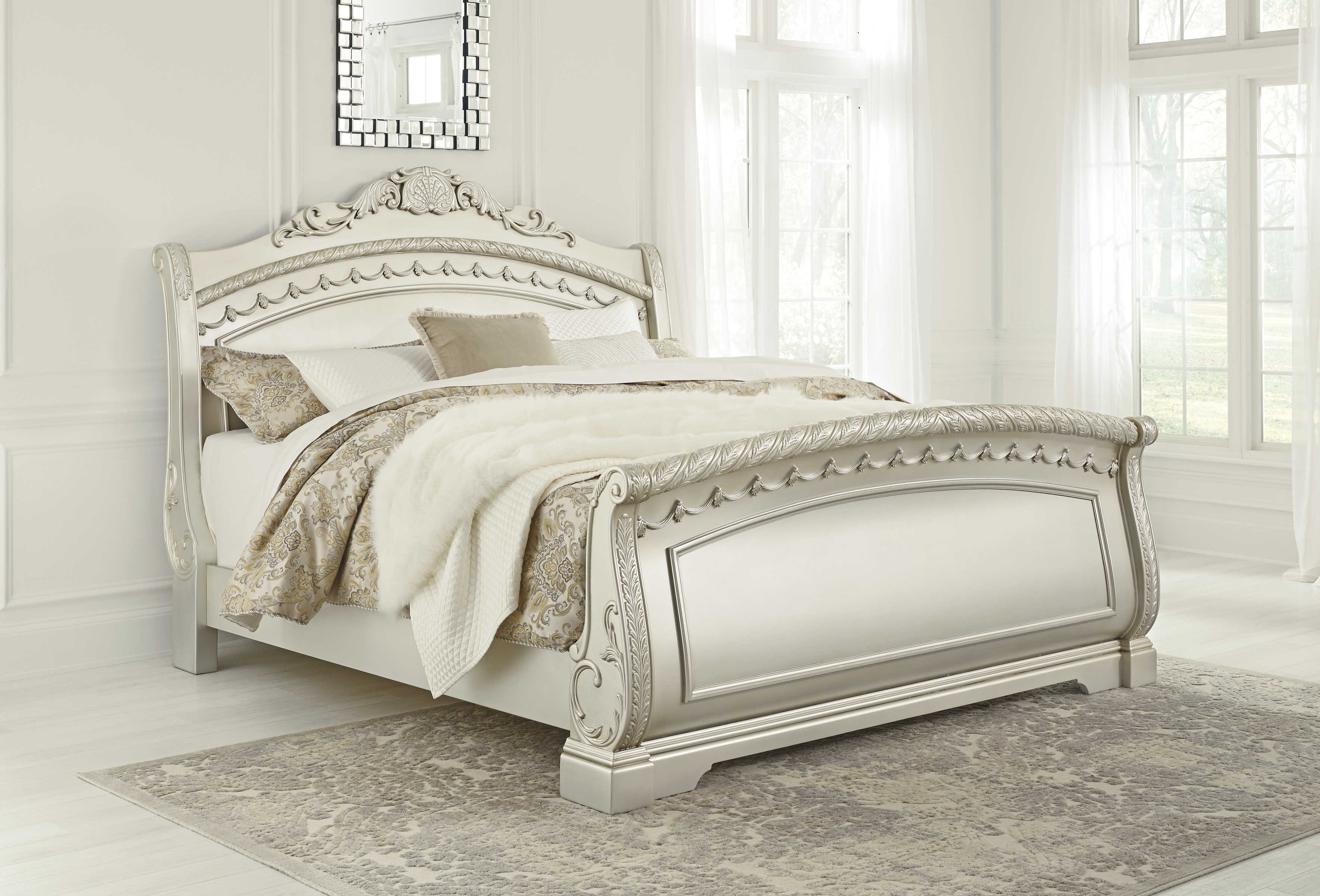 Ashley Furniture Cassimore Queen Sleigh Bed The Classy Home