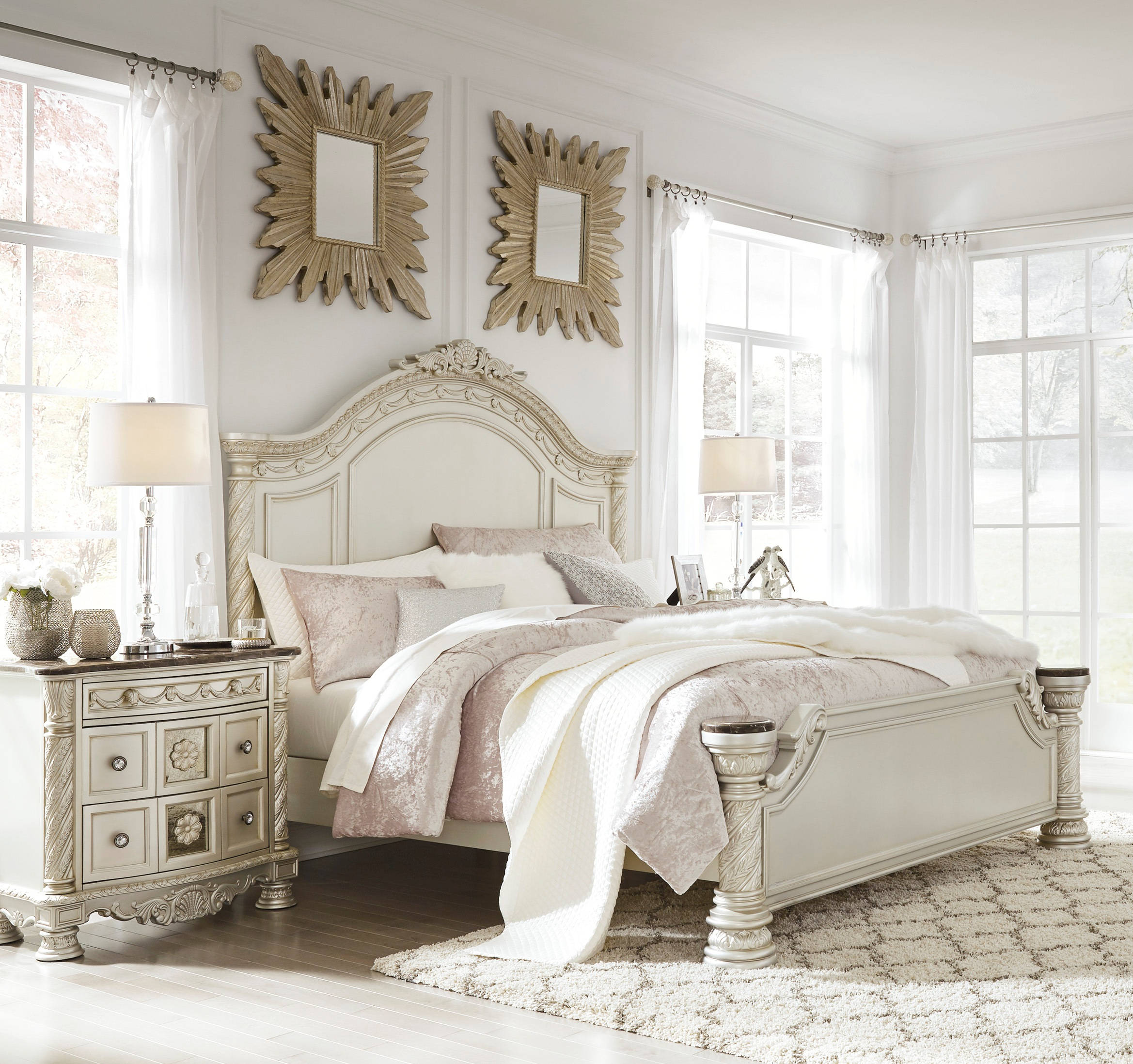 Ashley Furniture Cassimore 2pc Bedroom Set With Queen Panel Bed