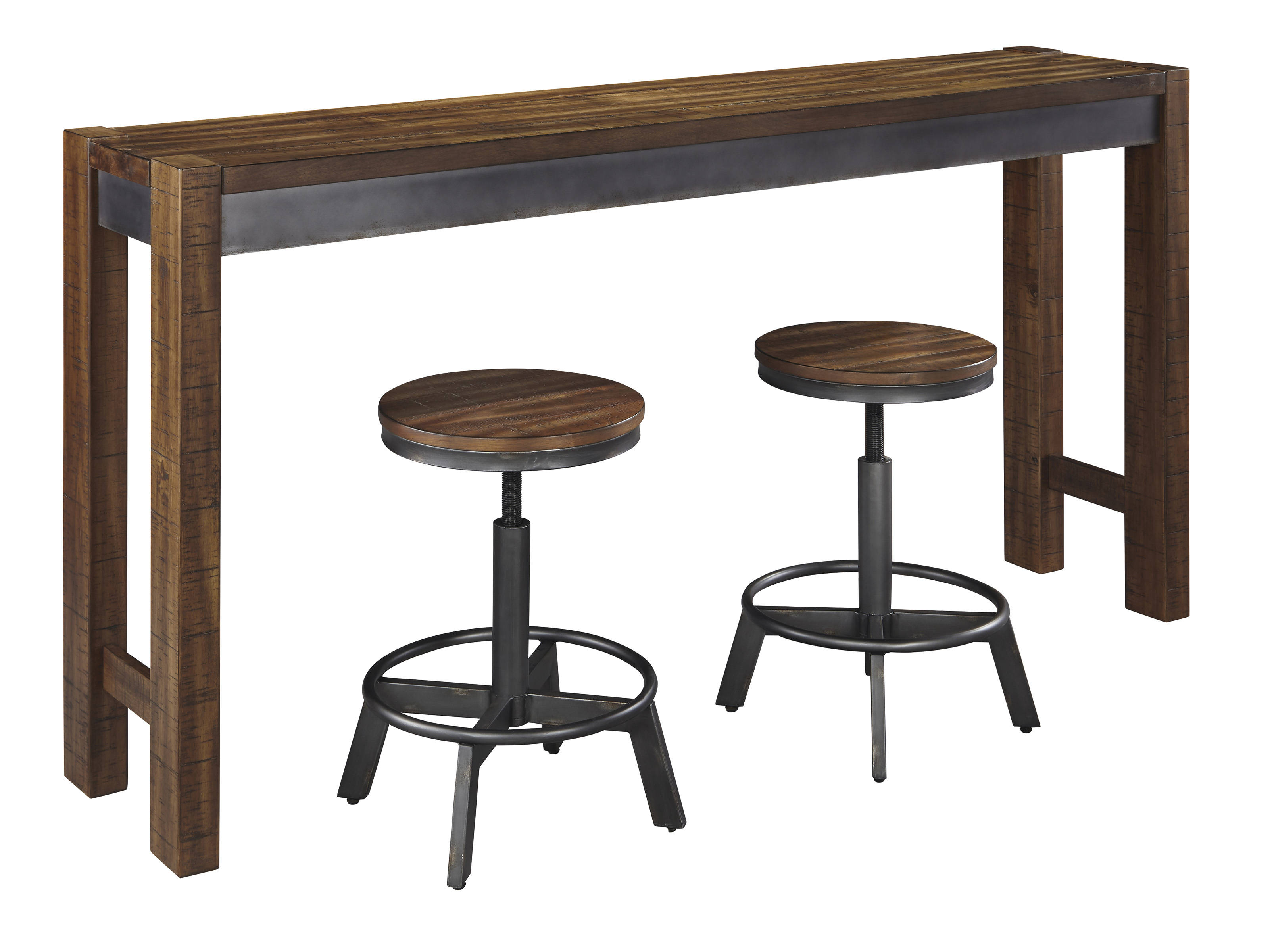 Ashley Furniture Torjin 3pc Counter Height Set The