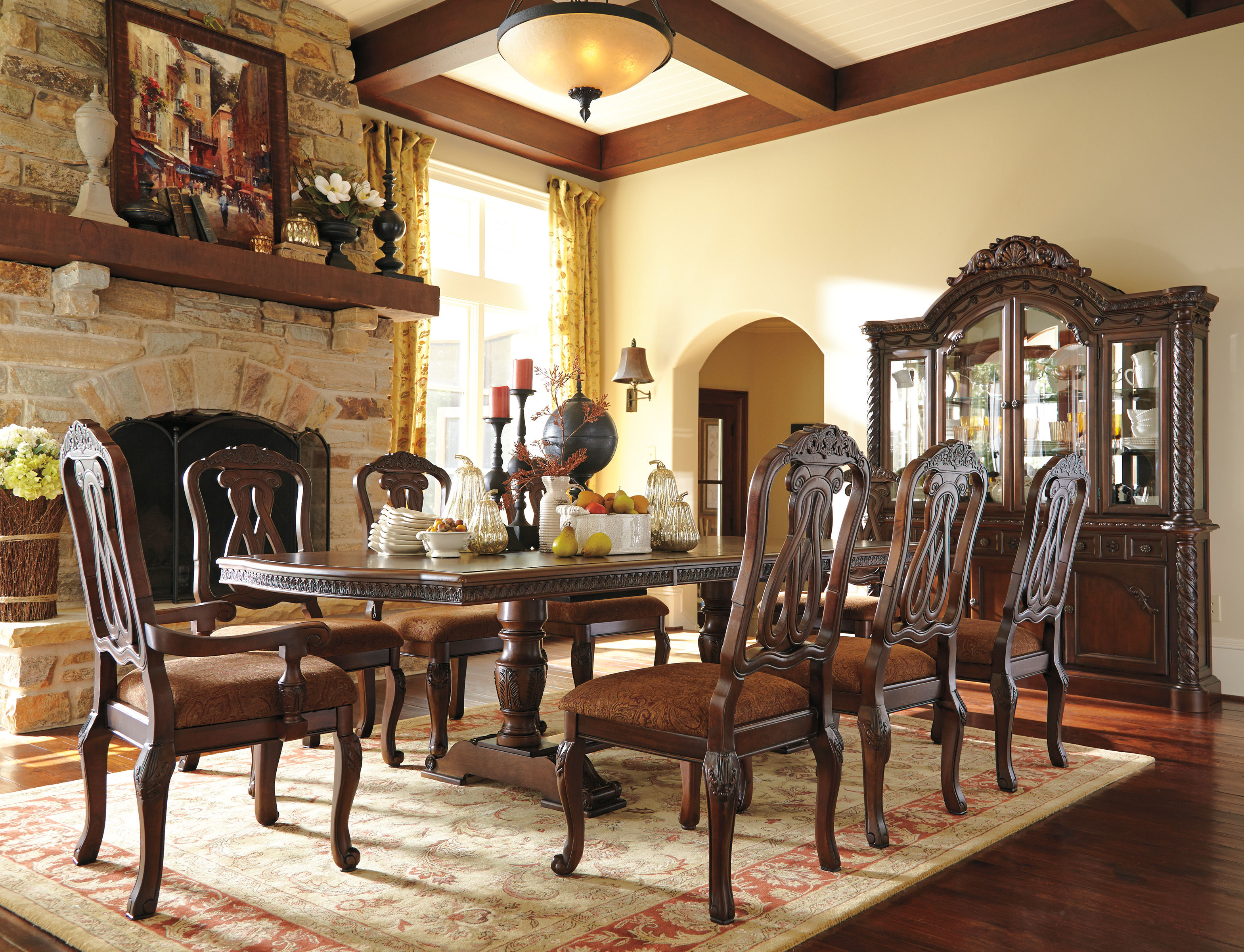 Ashley Furniture North Shore 9pc Dining Room Set | The ...