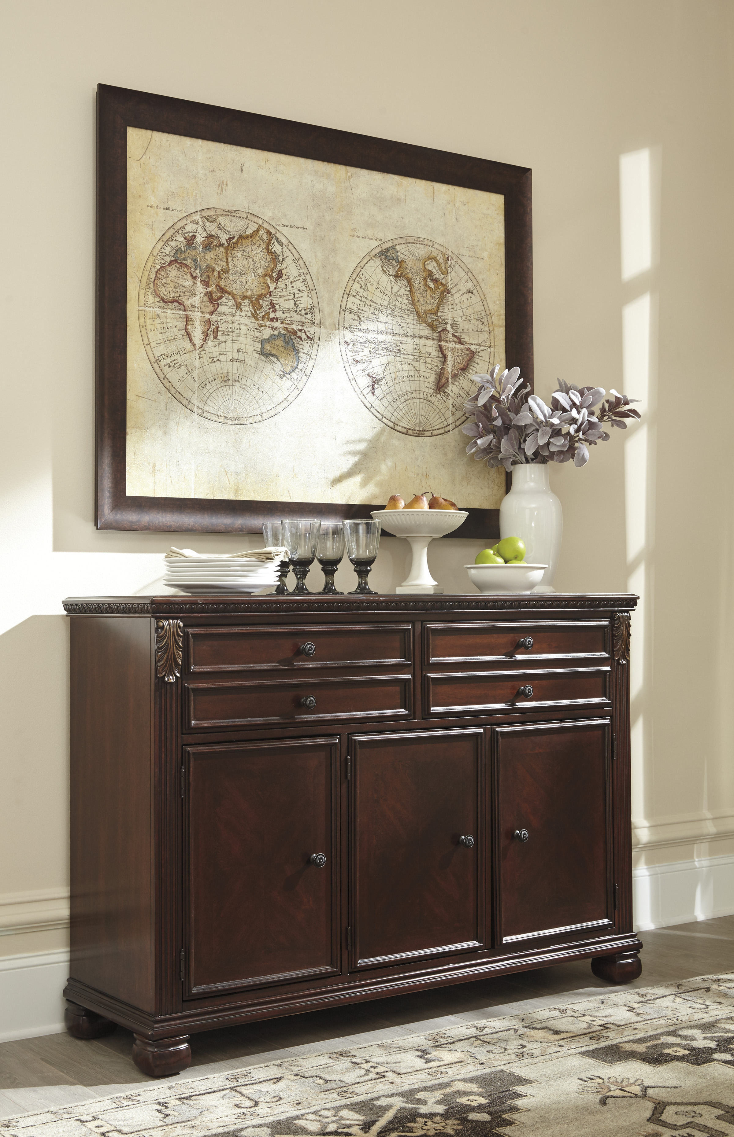 Ashley Furniture Leahlyn Dining Buffet The Classy Home