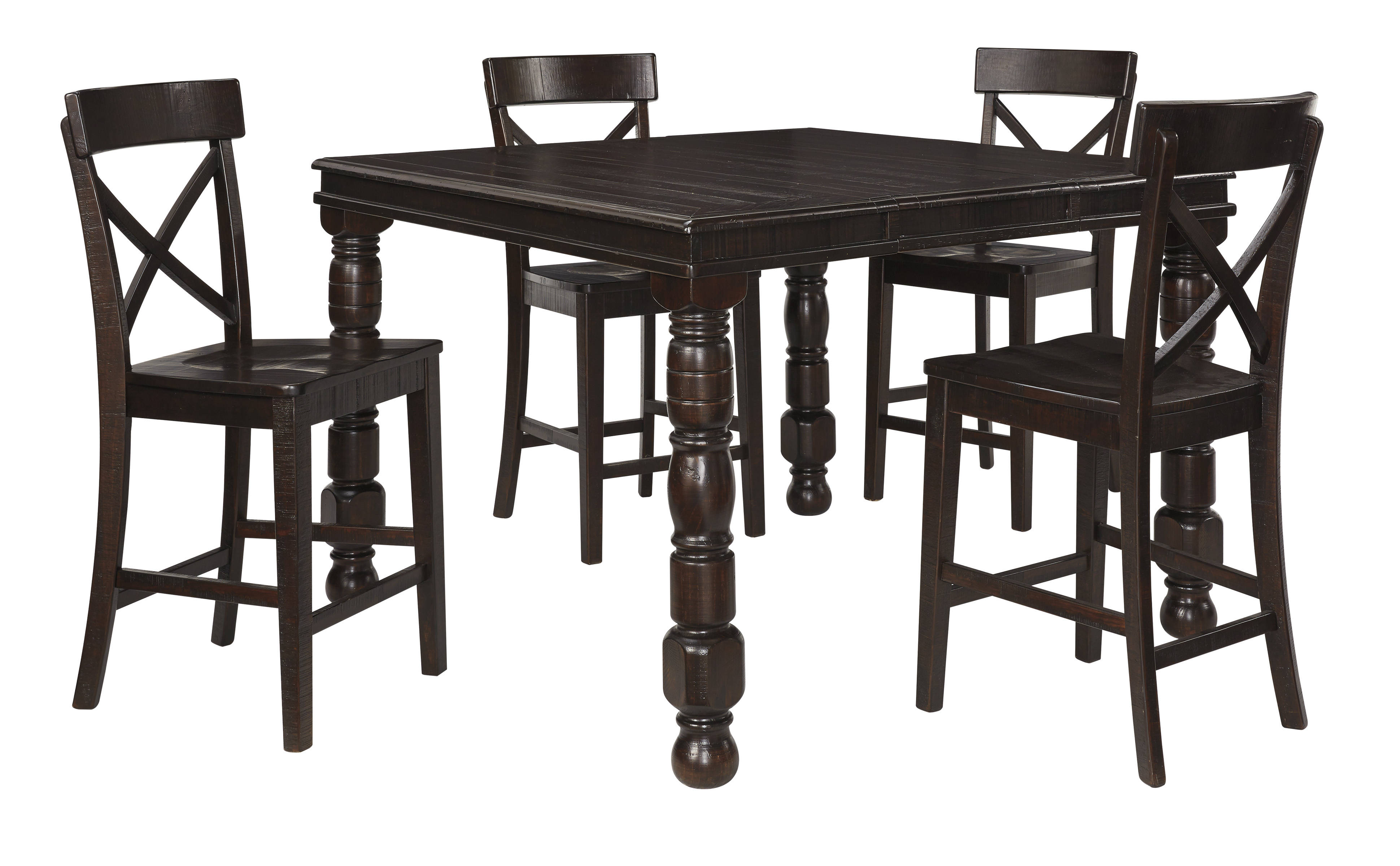 Ashley Furniture Gerlane 5pc Counter Height Set The