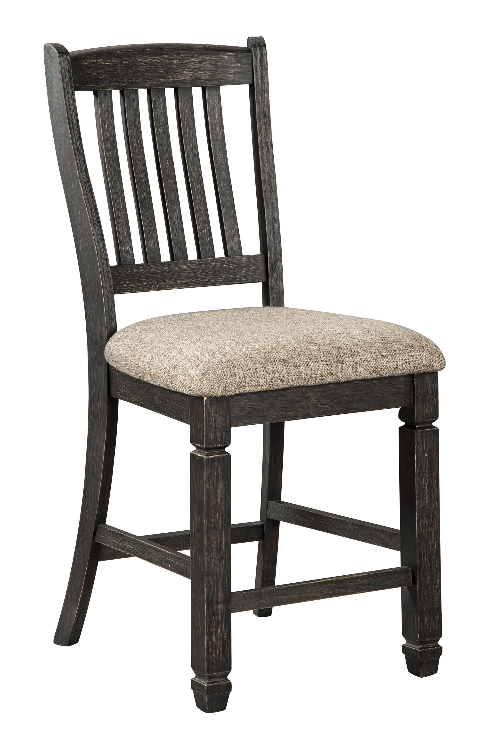 2 Ashley Furniture Tyler Creek Upholstered Bar Stools Click To Enlarge ...