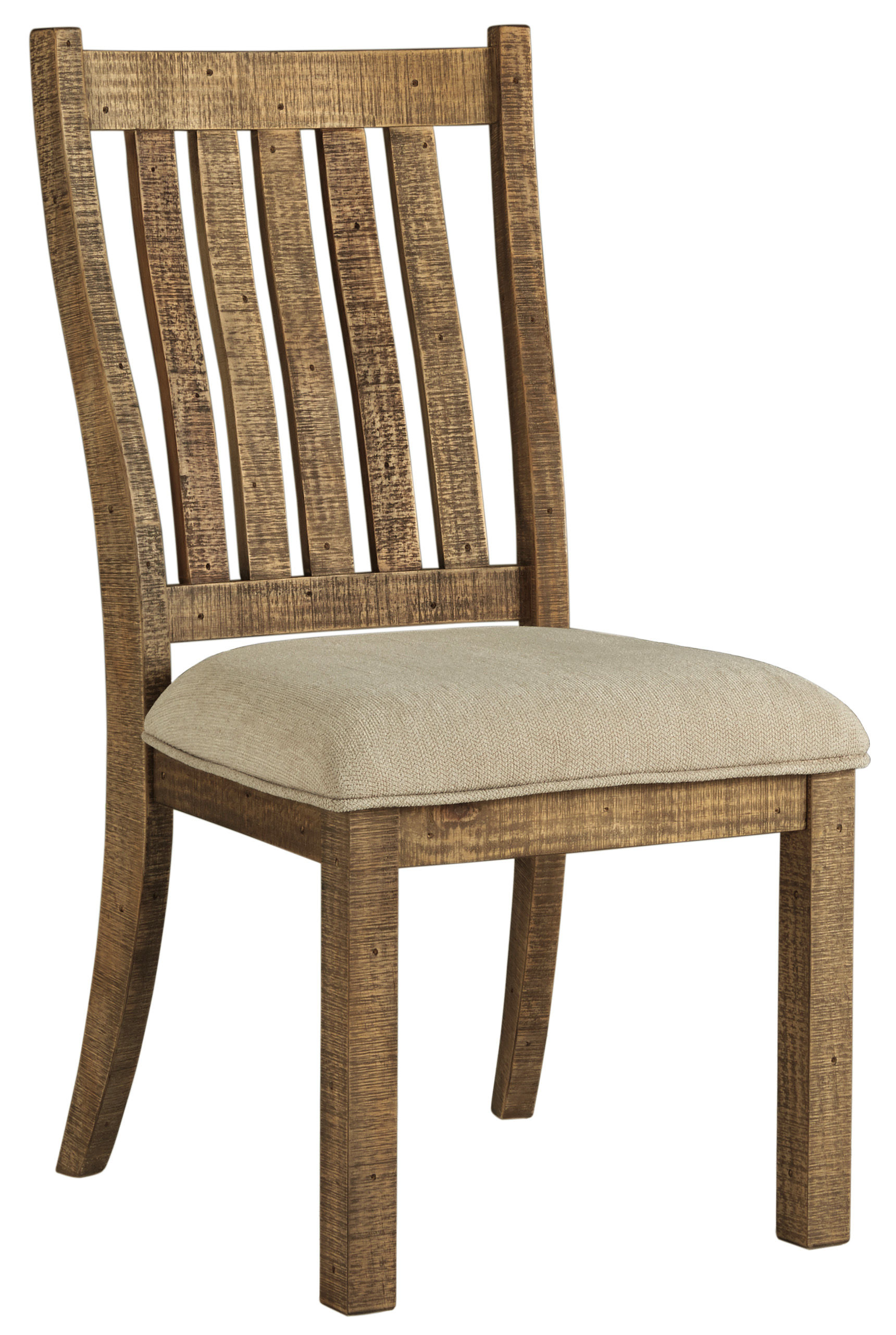 2 Ashley Furniture Grindleburg Dining Upholstered Side Chairs The