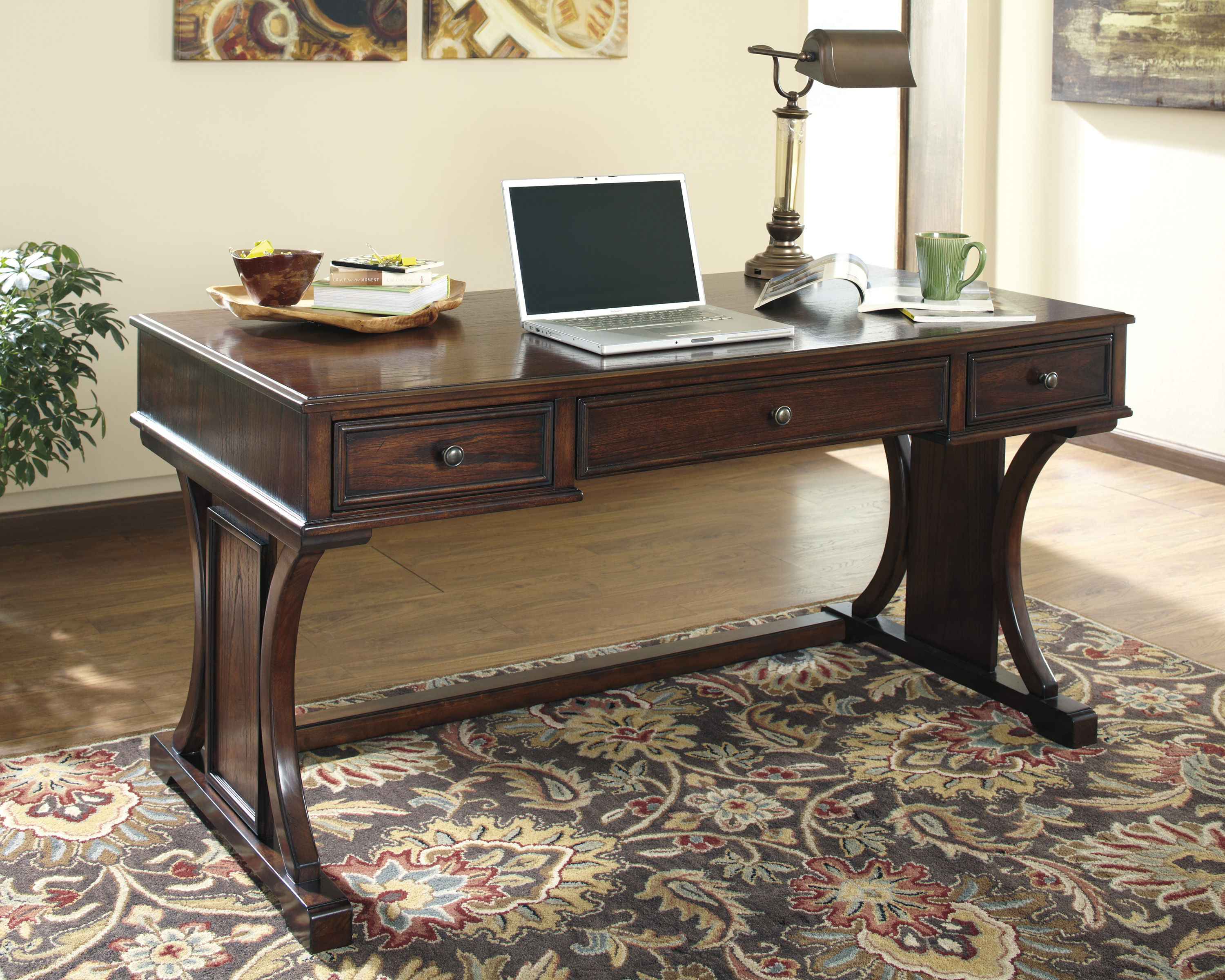 Home Office Sets Office Furniture Elements: Ashley Furniture Devrik Home Office Desk