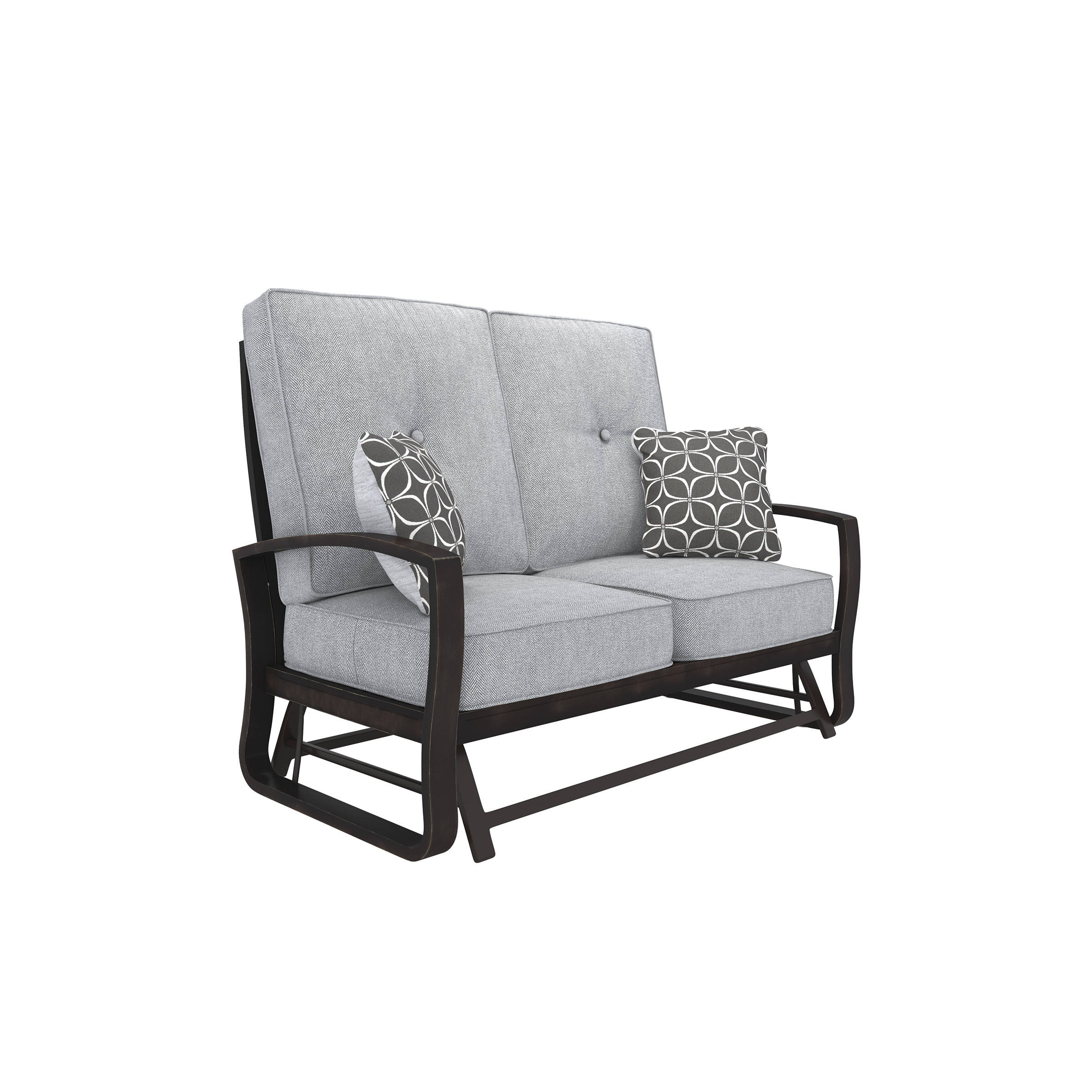 Ashley Furniture Castle Island Cushion Glider Loveseat Click To Enlarge
