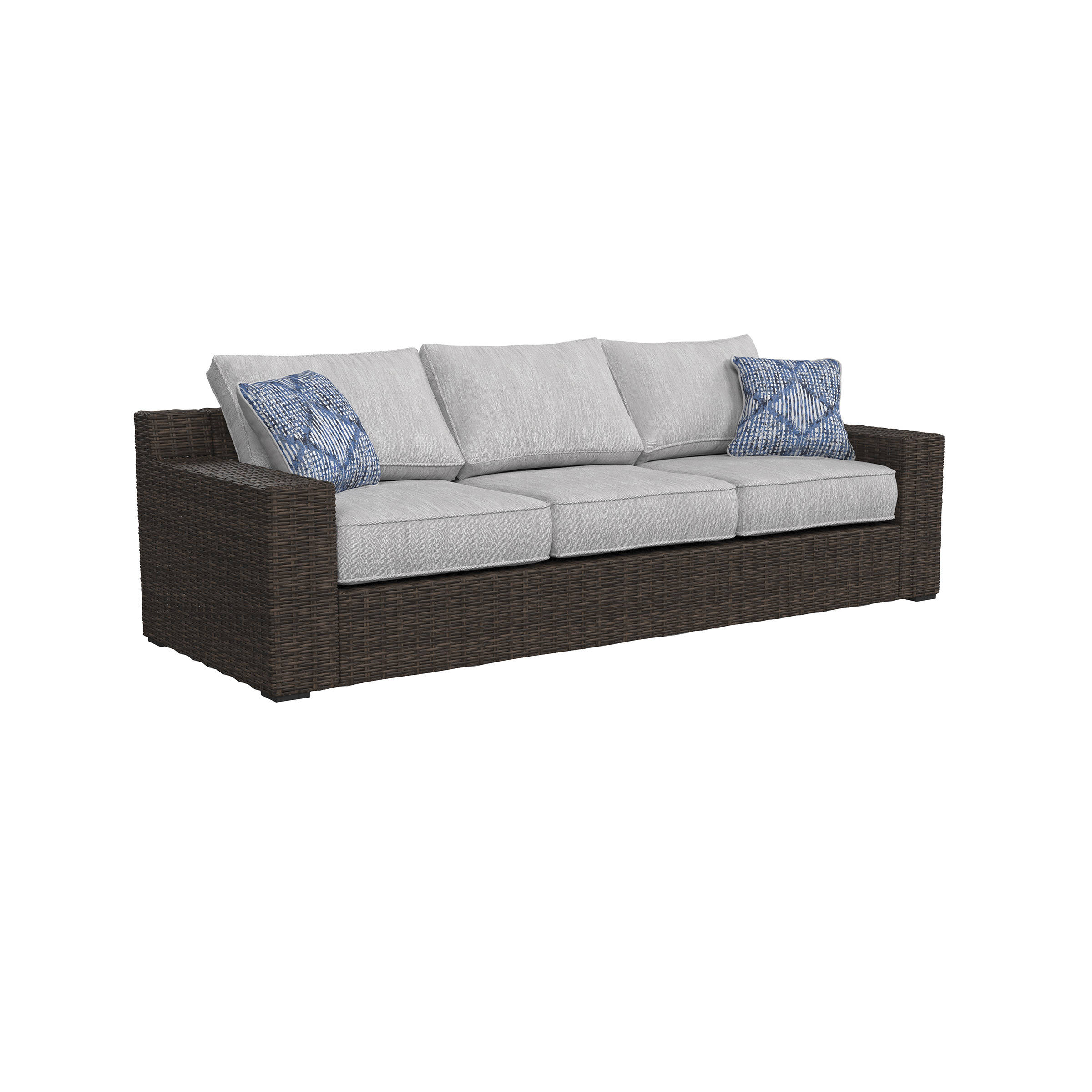 Delicieux Ashley Furniture Alta Grande Outdoor Sofa Click To Enlarge ...