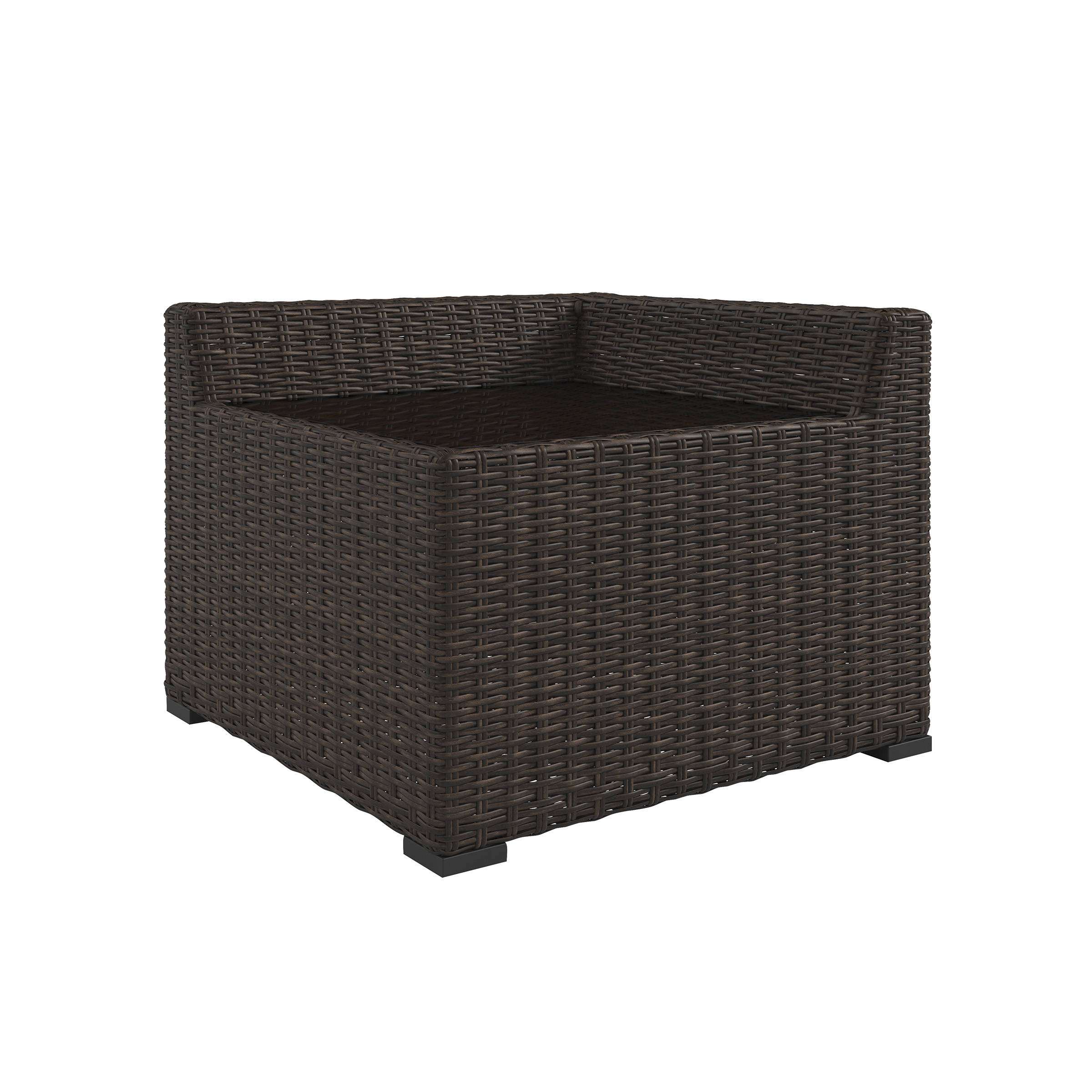 Ashley Furniture Alta Grande Outdoor Corner End Table The Classy Home - Black corner end table