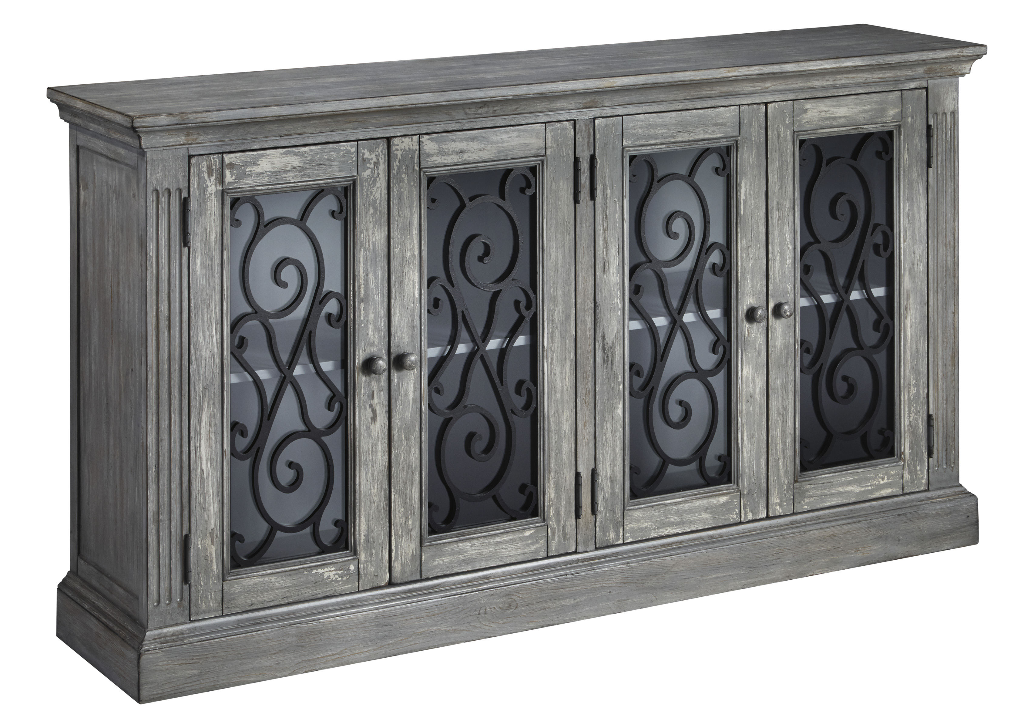 Ashley Furniture Mirimyn Door Accent Cabinet Click To Enlarge