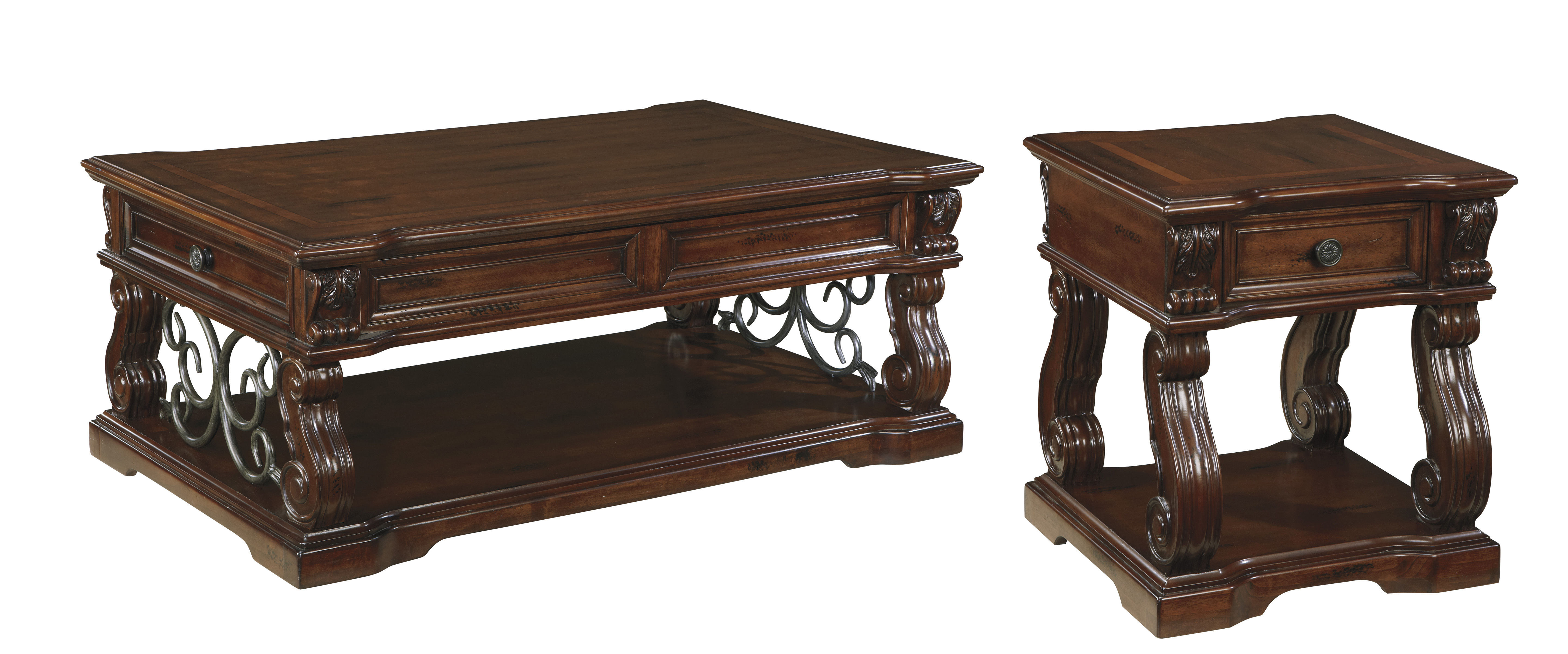 Ashley Furniture Coffee Table Sets 3