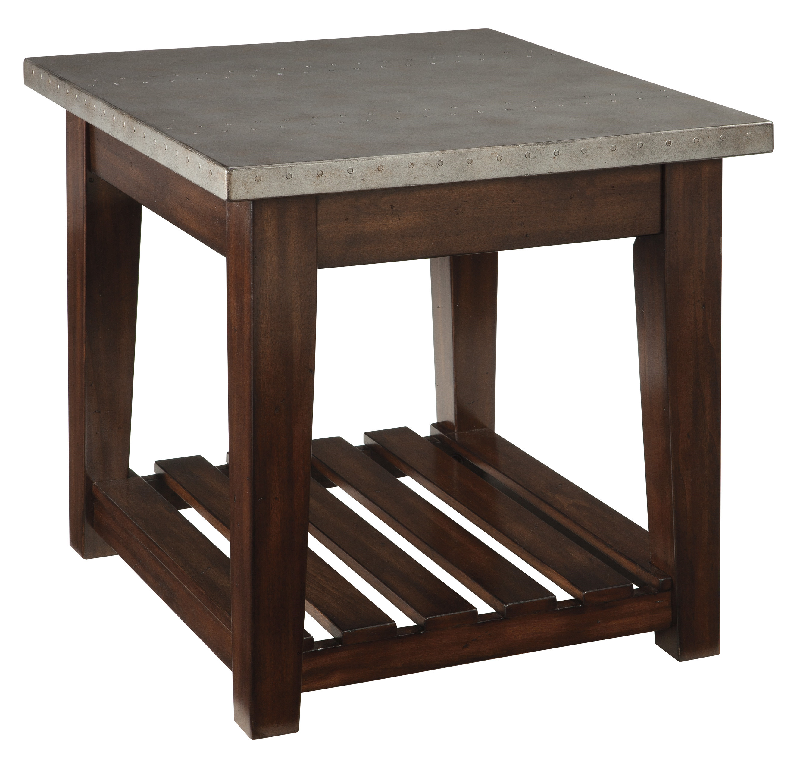Ashley Furniture Bynderman Rectangular End Table The Classy Home