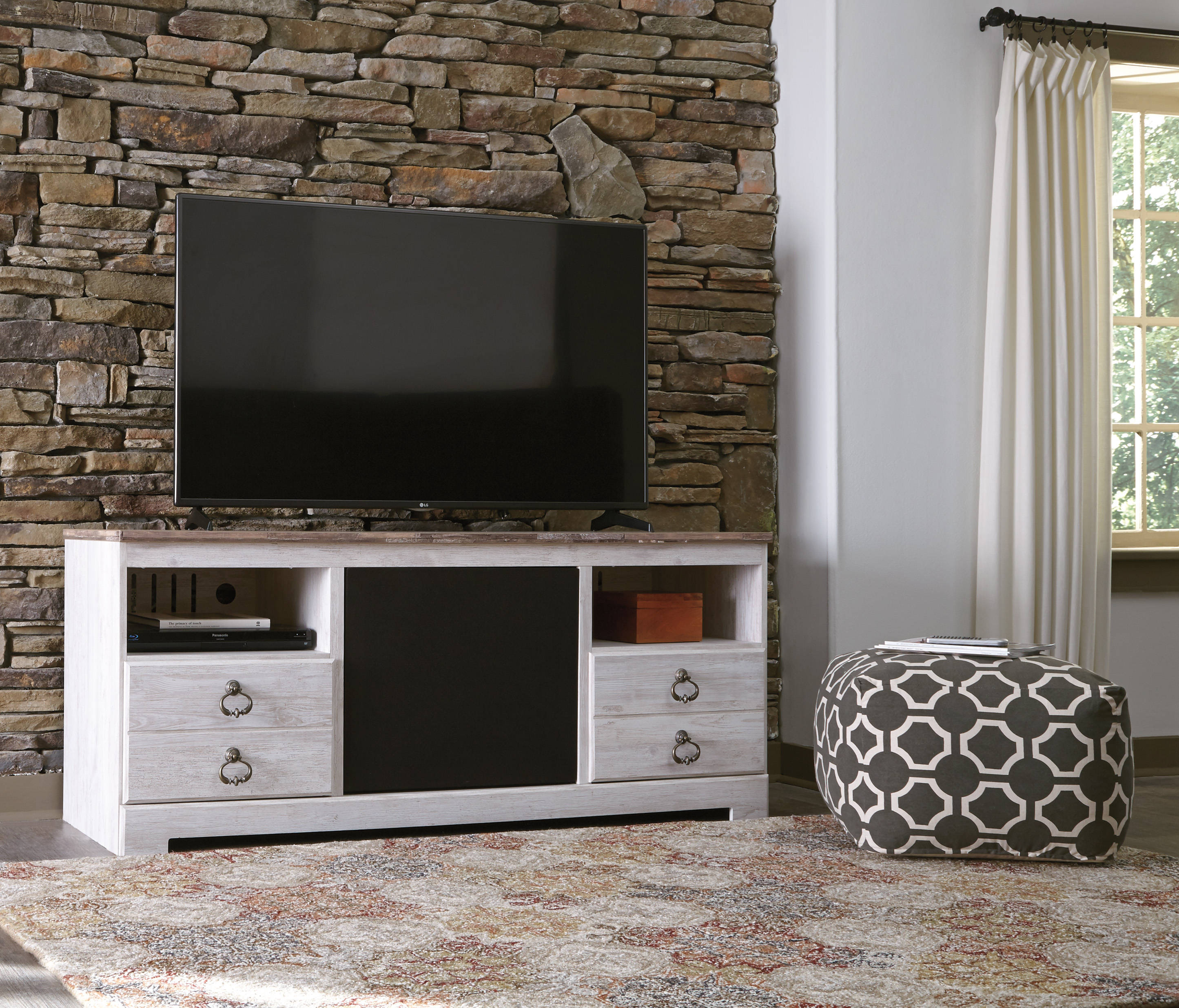 Ashley Furniture Willowton TV Stand With Audio Option
