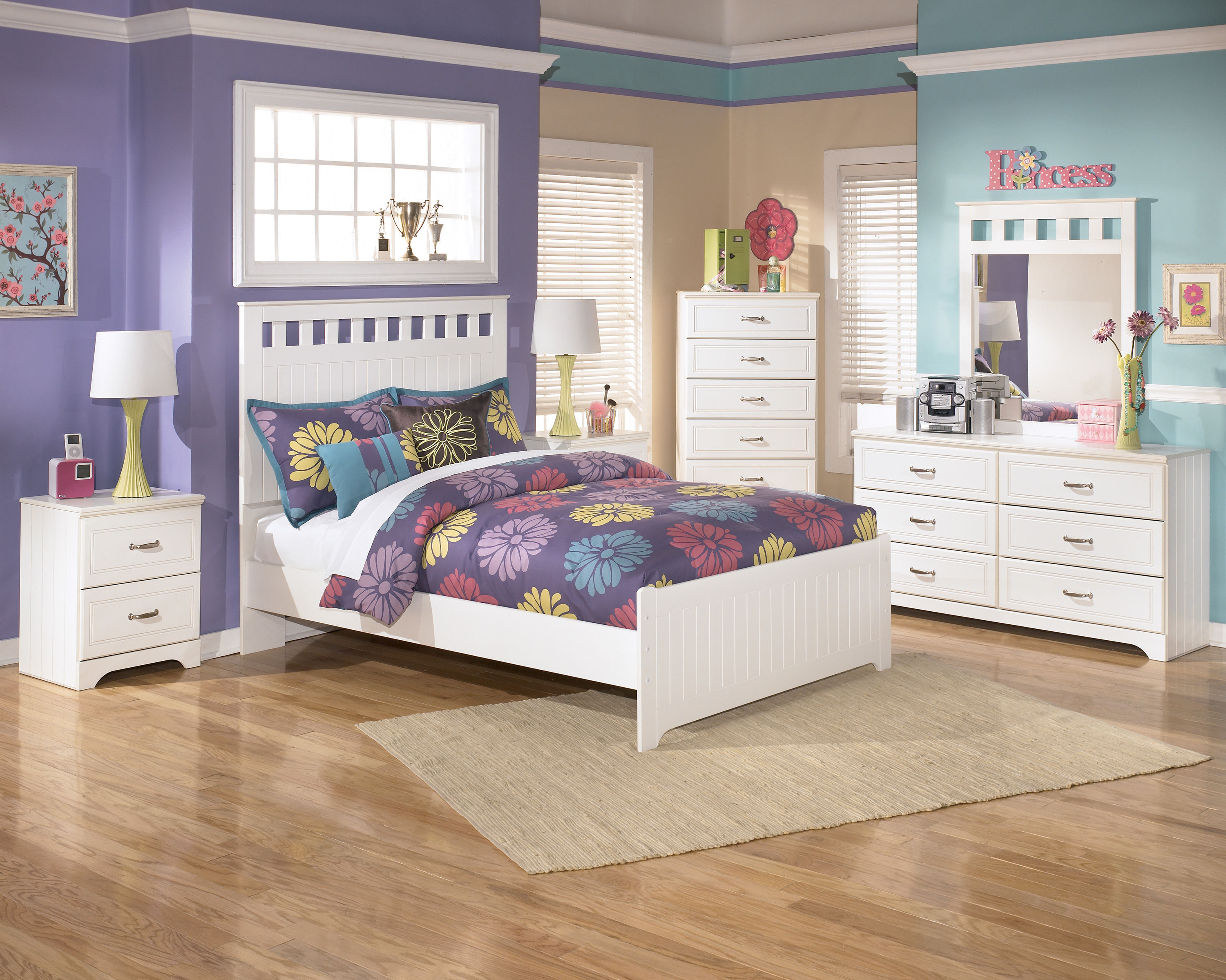 ashley furniture lulu kids bedroom set | the classy home