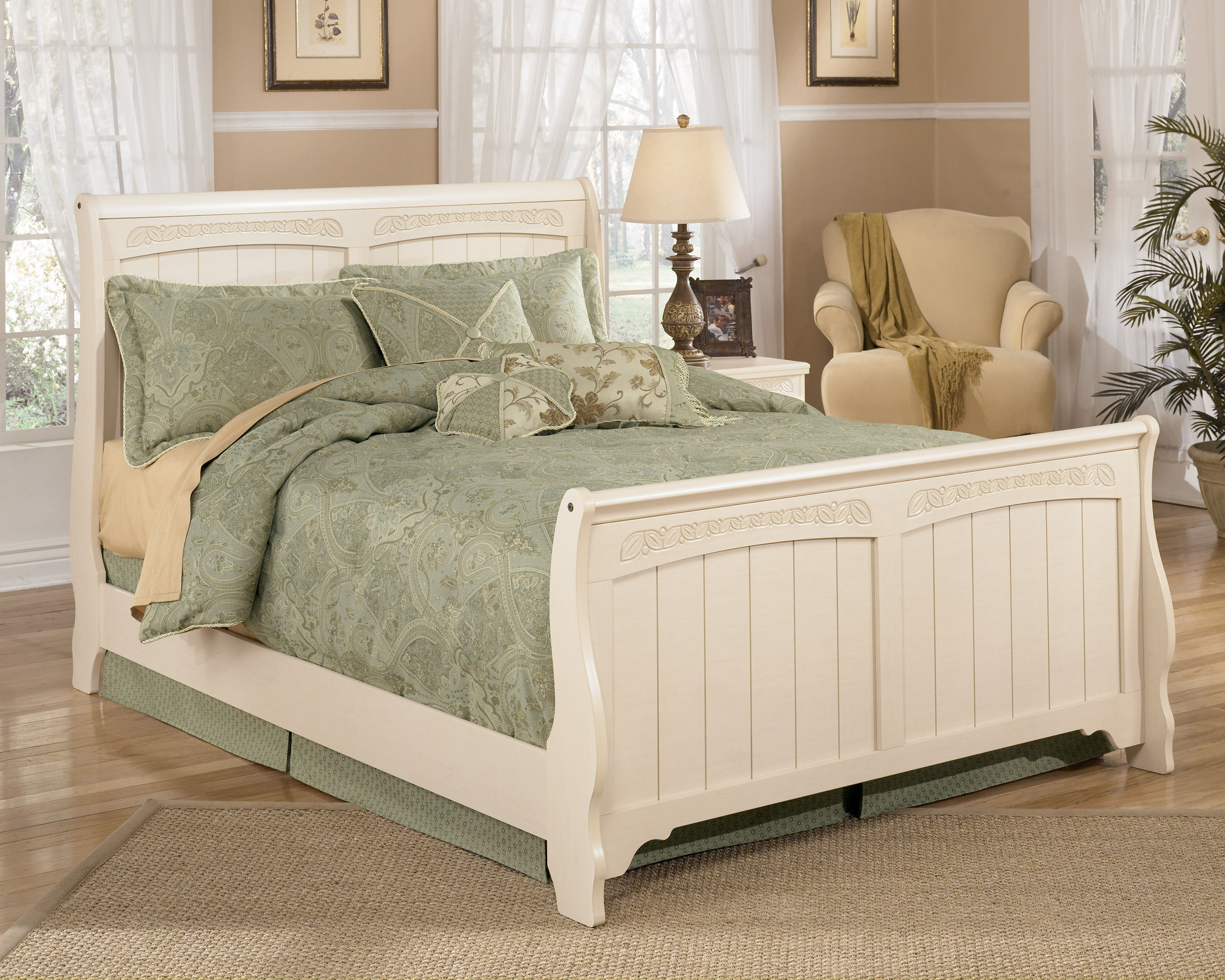 Ashley Furniture Cottage Retreat Full Sleigh Bed | The ...