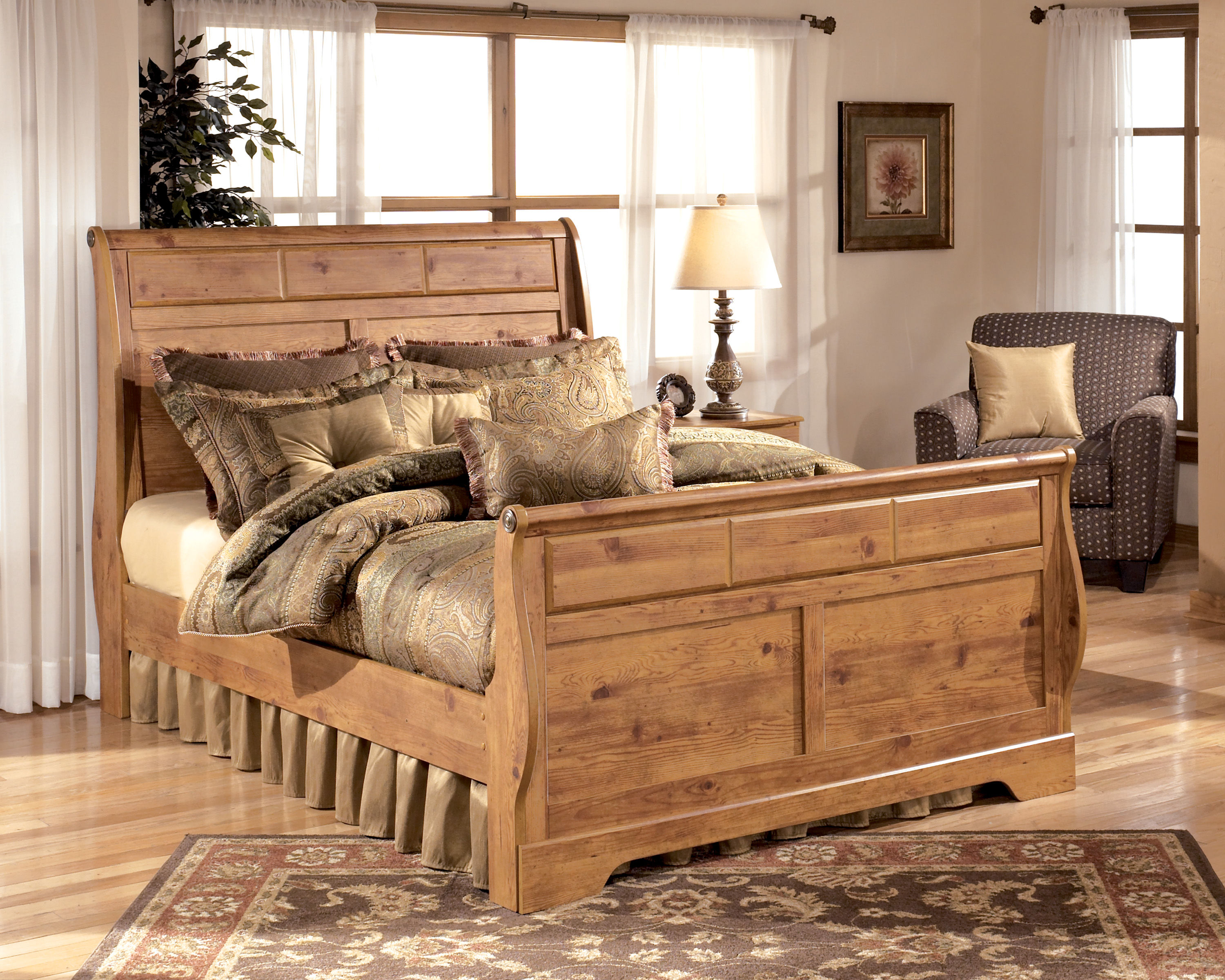 Bon Ashley Furniture Bittersweet King Sleigh Bed Click To Enlarge ...